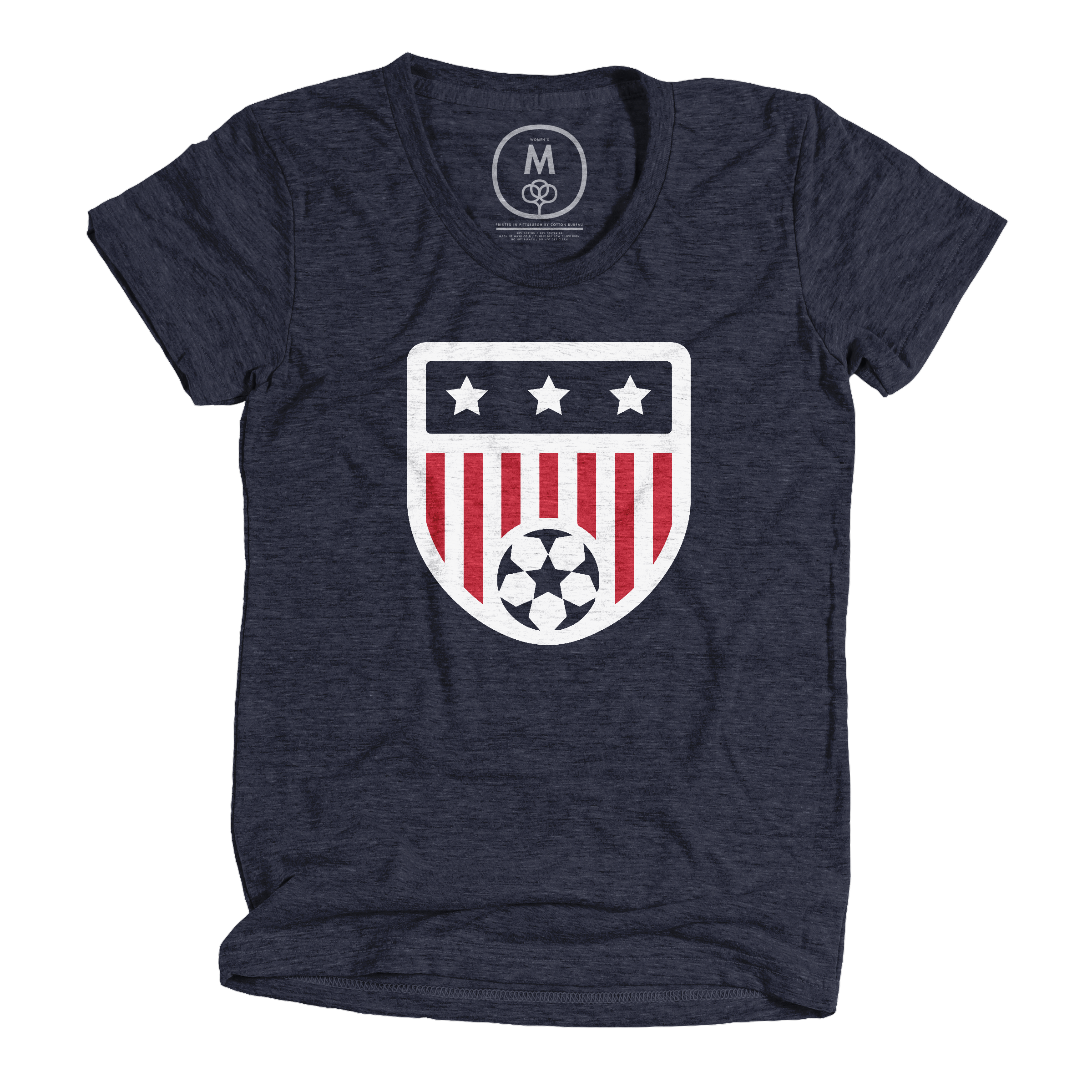 USA, All The Way! Vintage Navy (Women's)