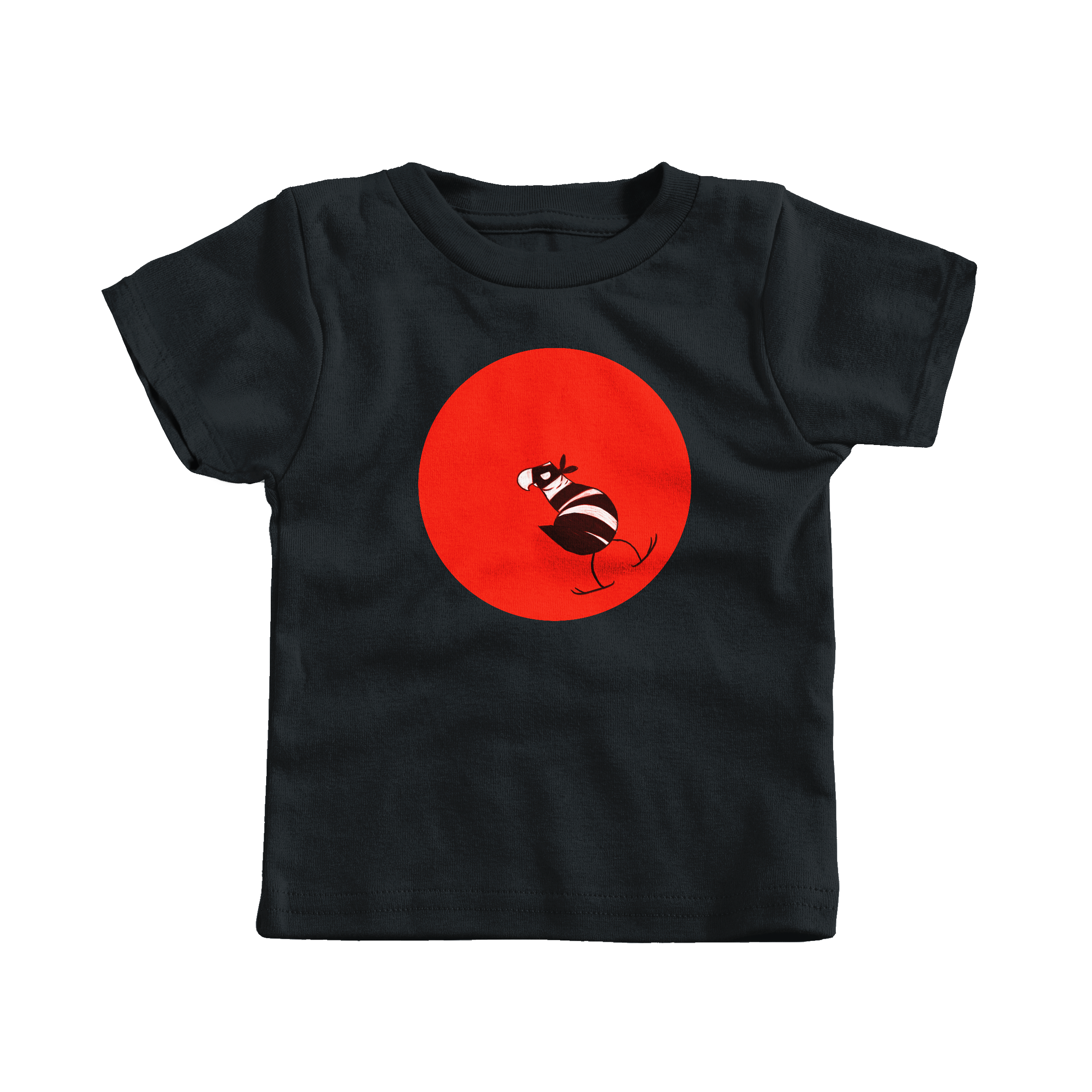 Bandit Bird Black (T-Shirt)