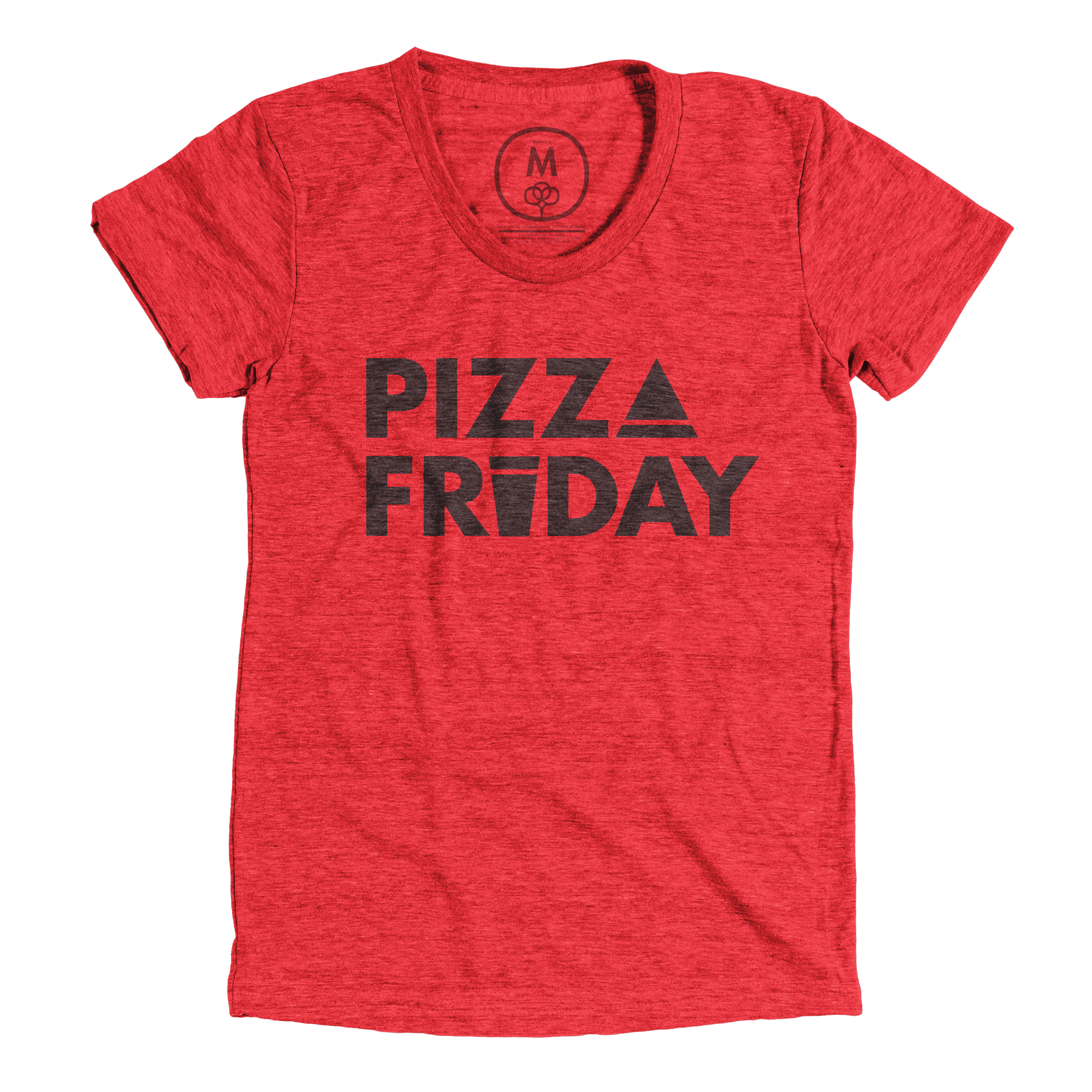 Pizza Friday Vintage Red (Women's)