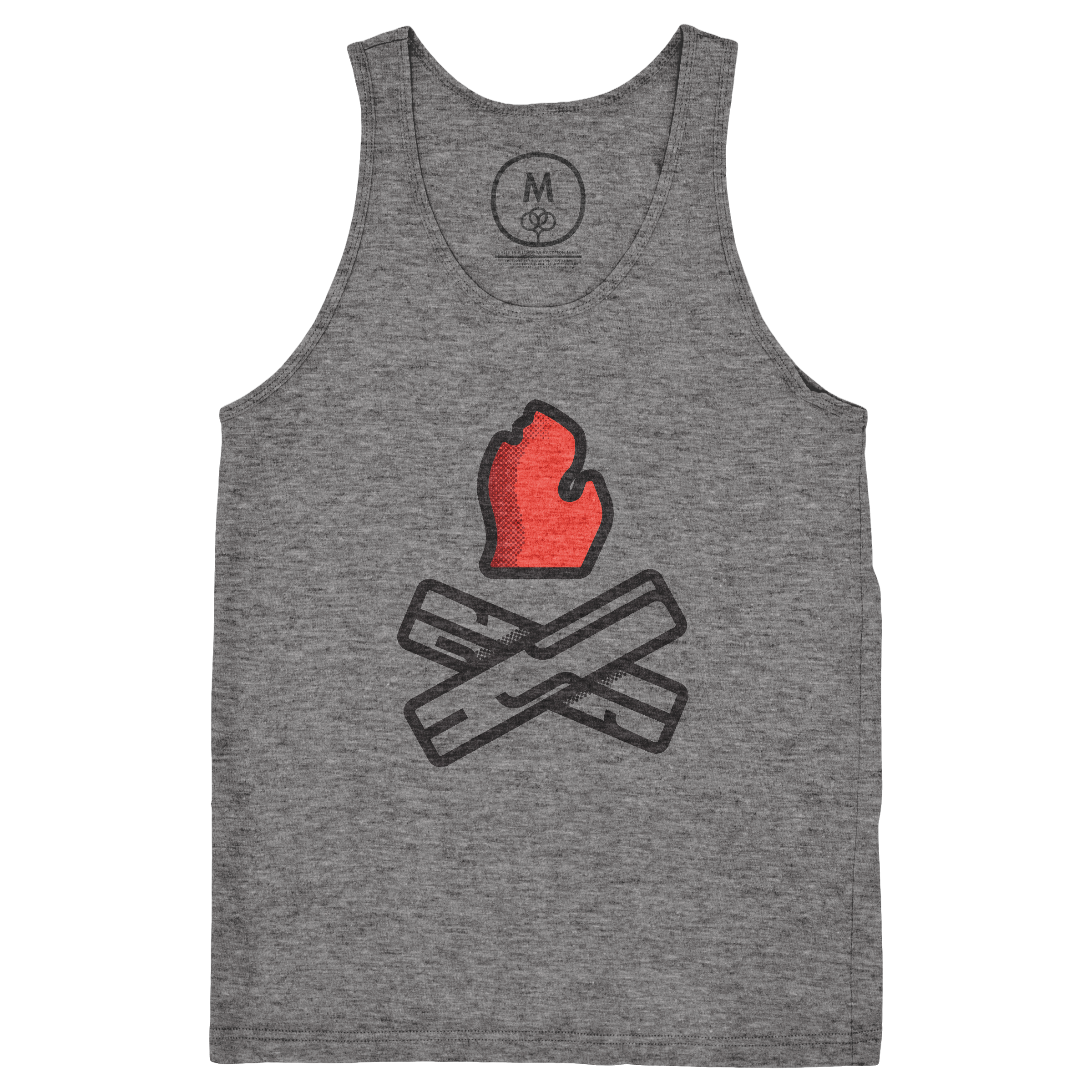 Let's Go Camping Tank Top
