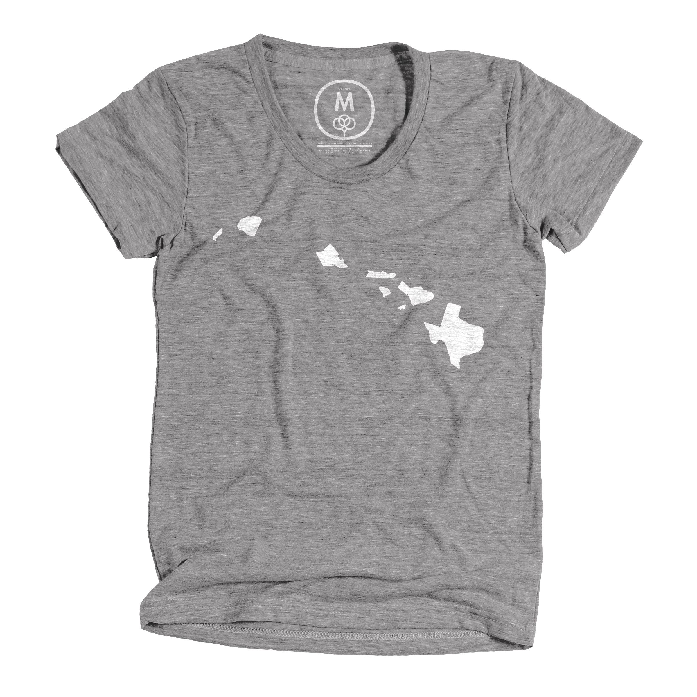Aloha y'all Athletic Grey (Women's)