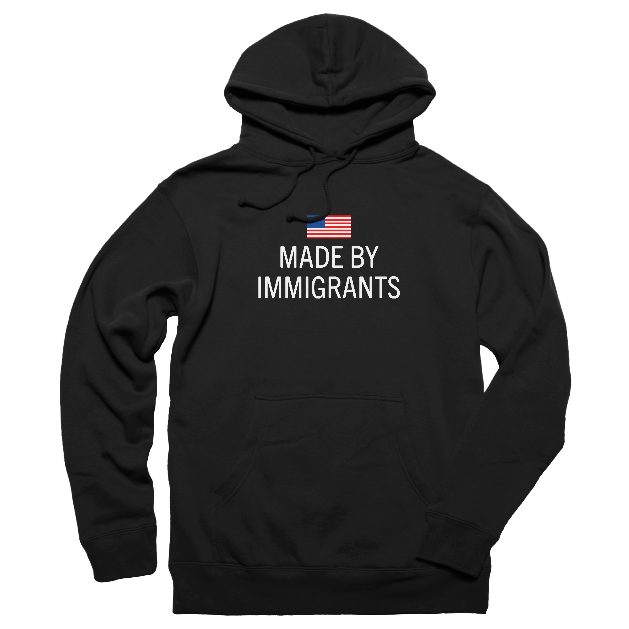 Made by immigrants. Pullover Hoodie