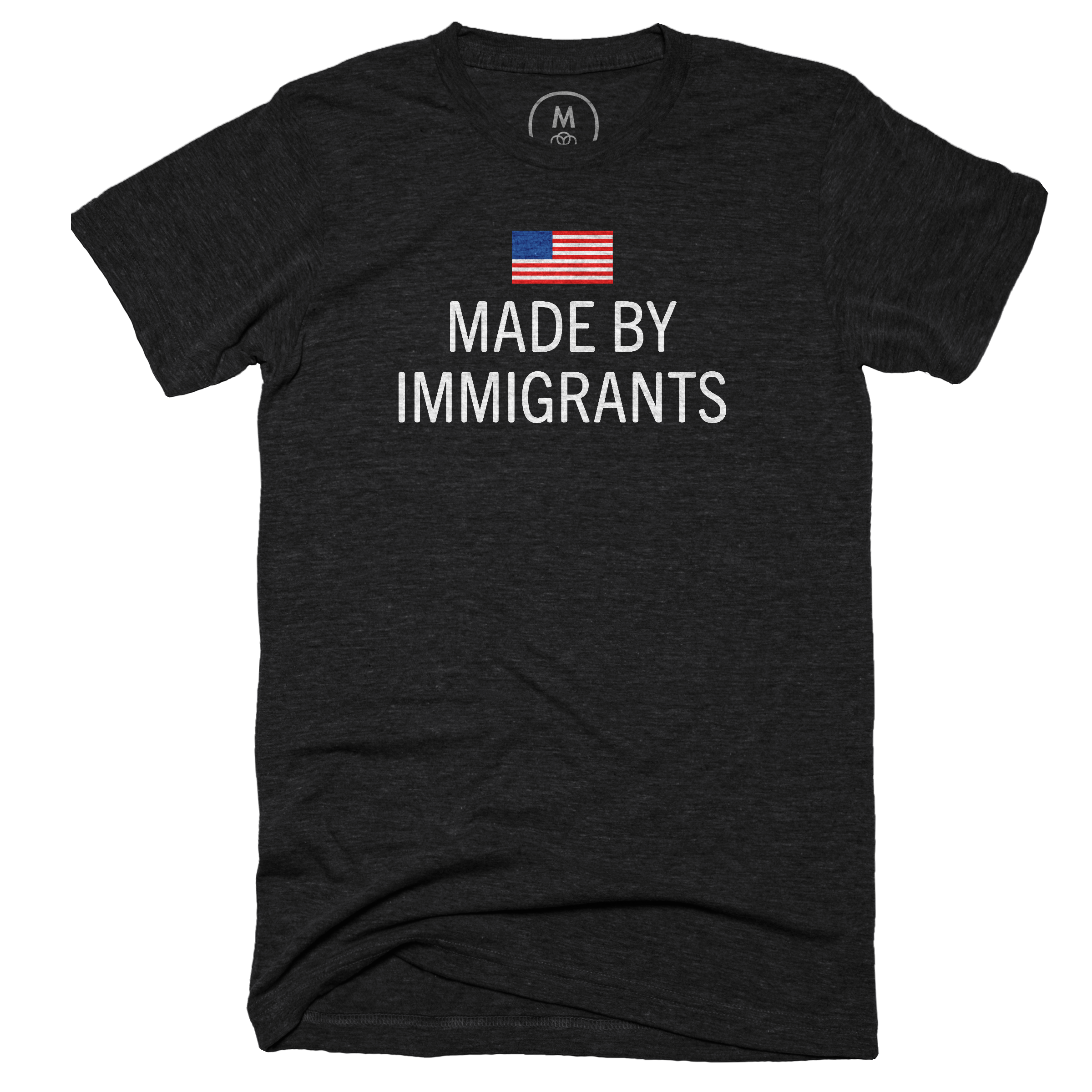 Made by immigrants. Vintage Black (Men's)