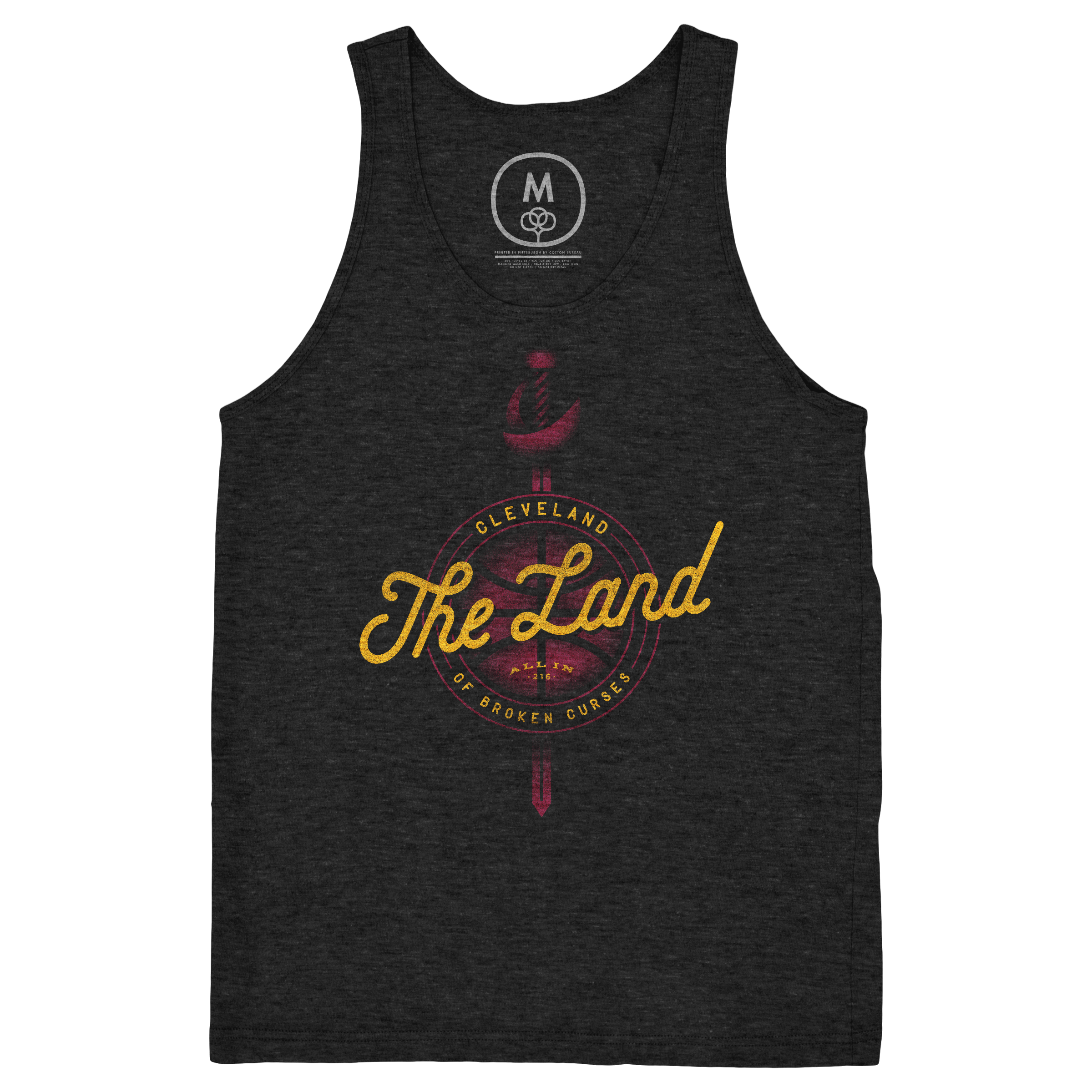 Cleveland: The Land of Broken Curses Tank Top