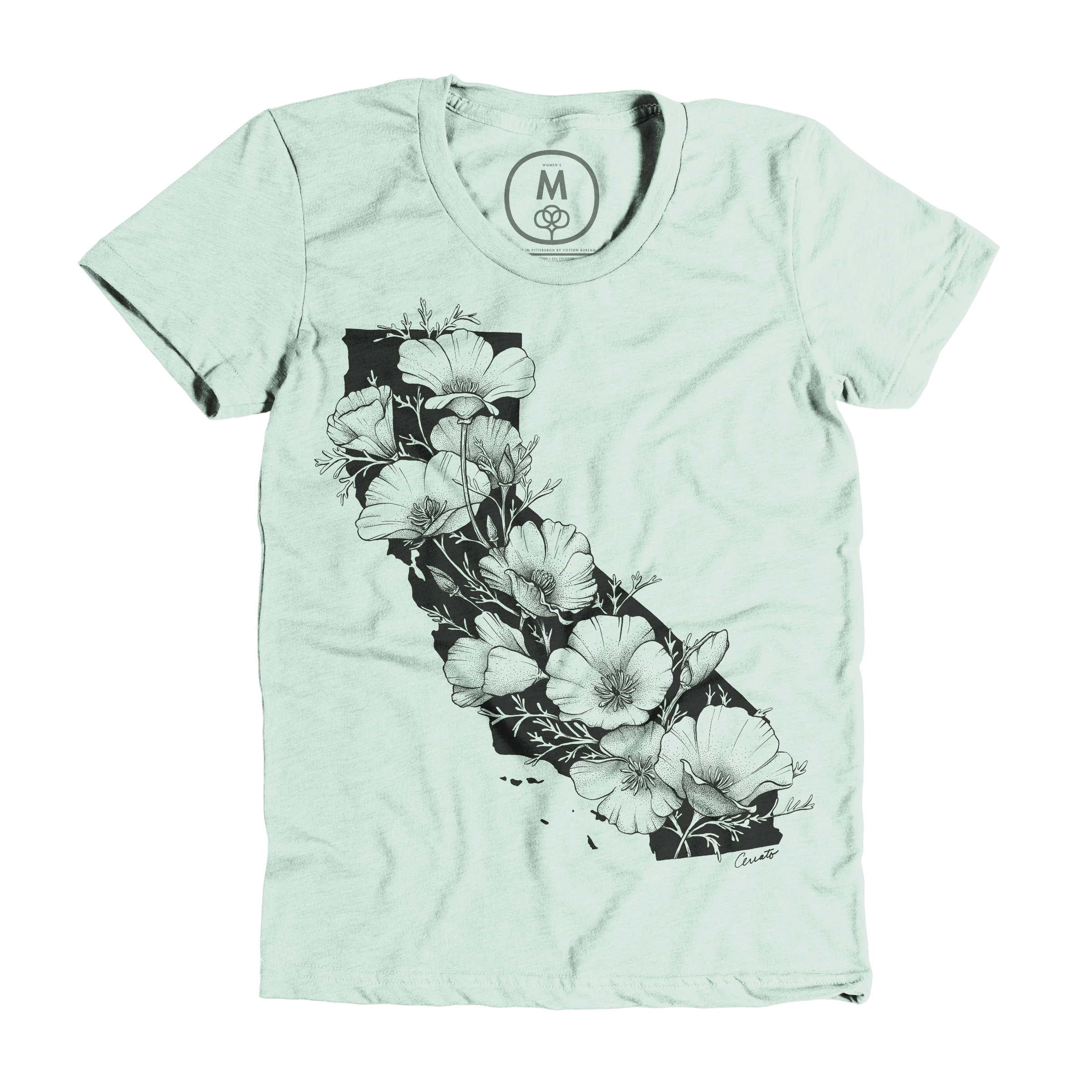 California In Bloom Mint (Women's)