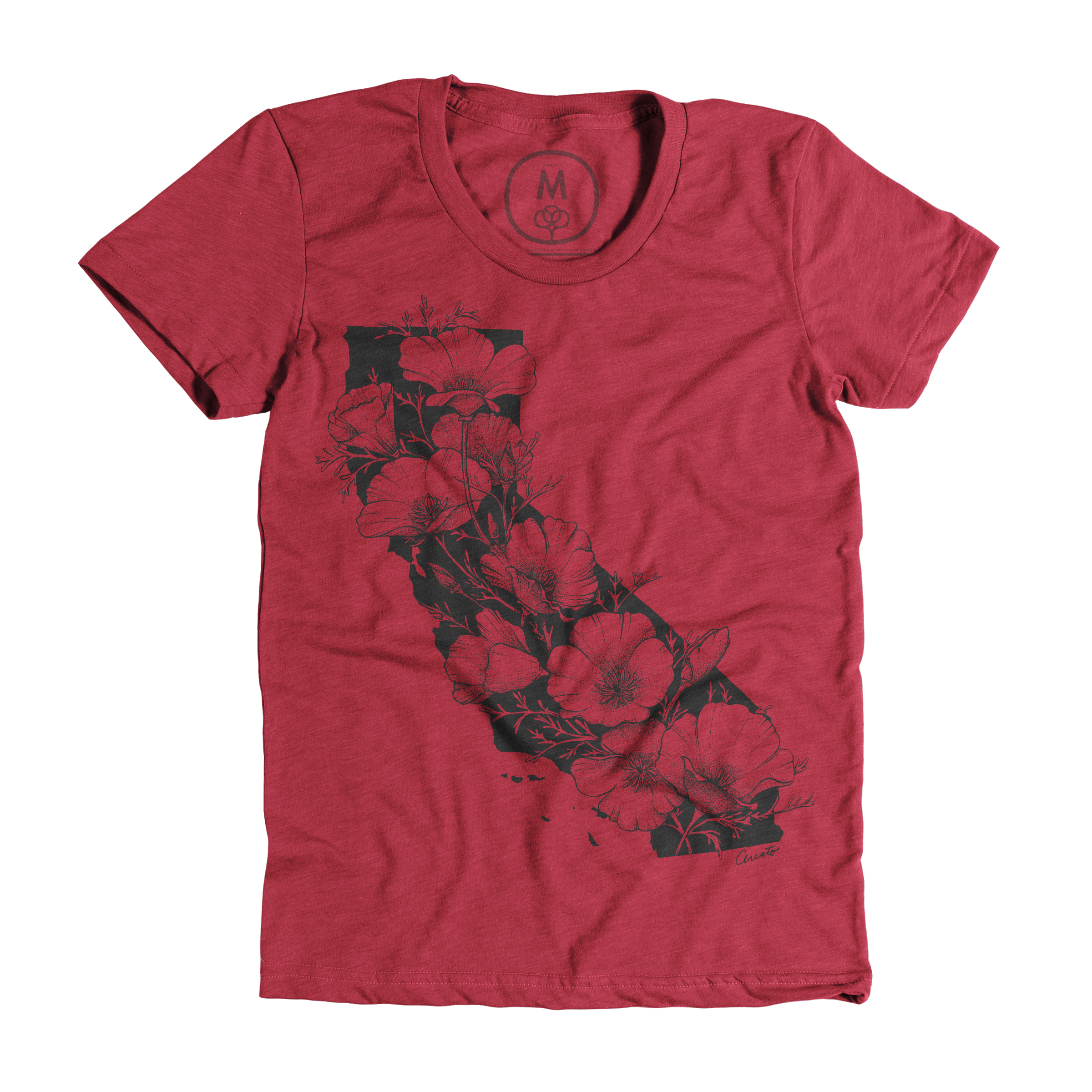 California In Bloom Scarlet (Women's)