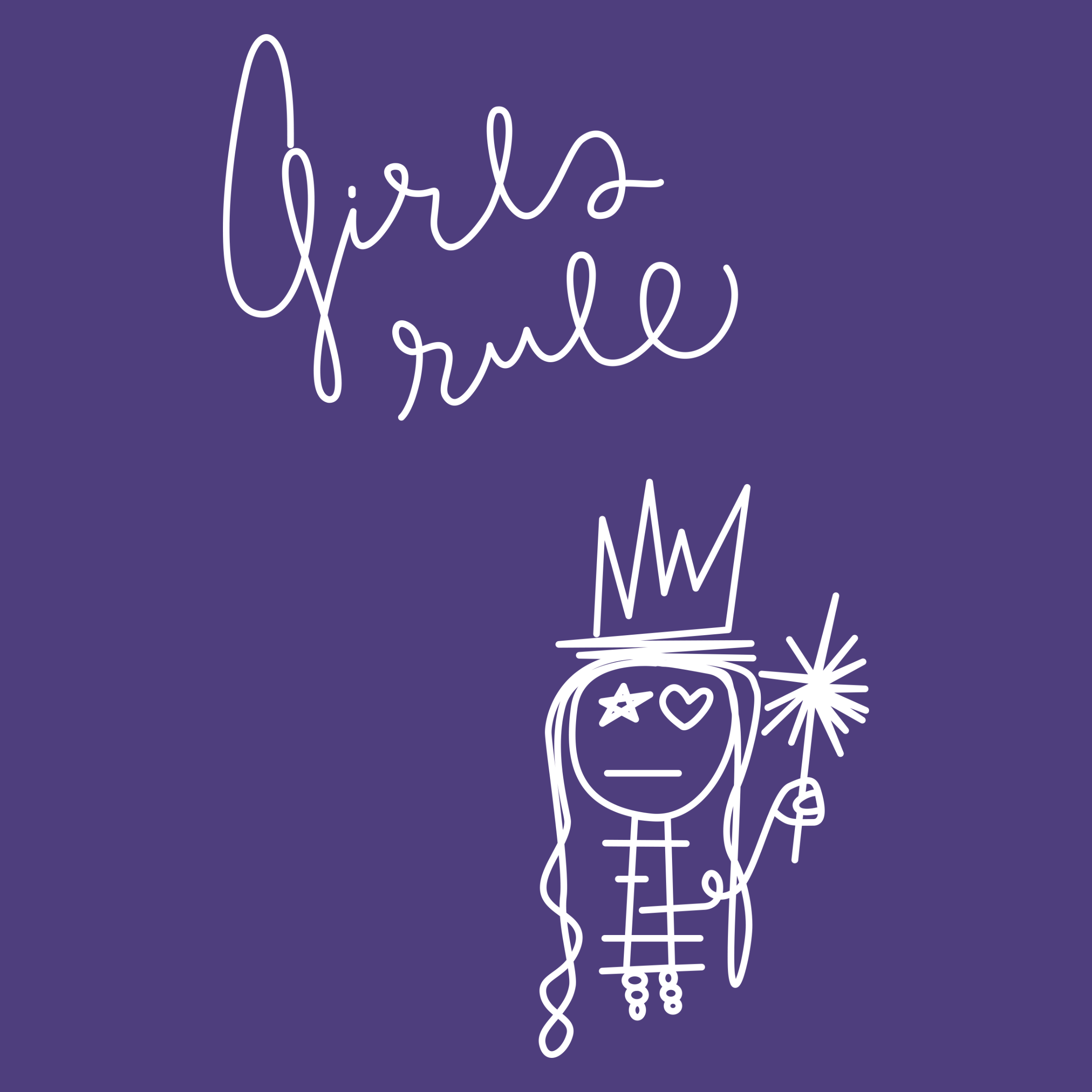 Girls Rule Detail