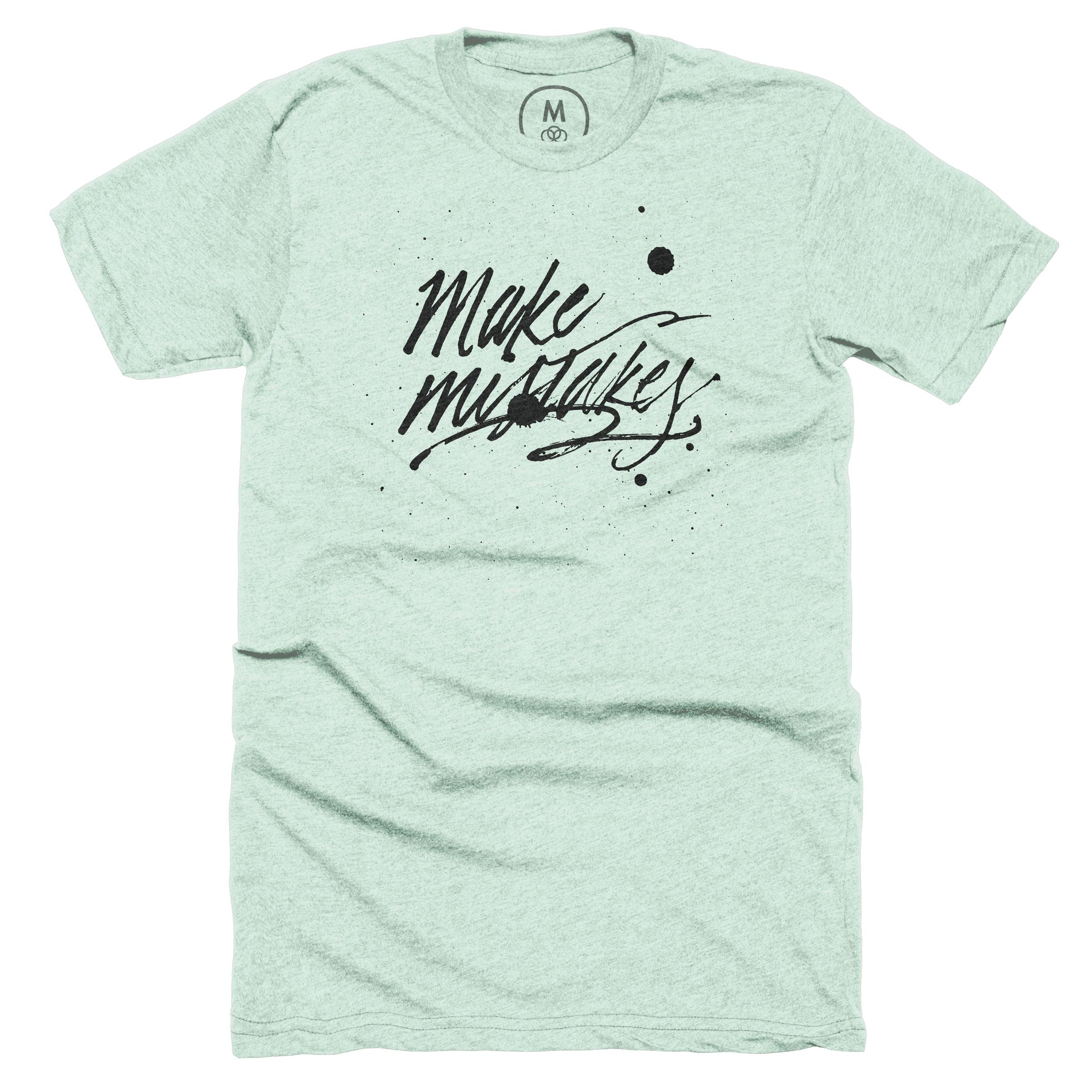 Make Mistakes Mint (Men's)