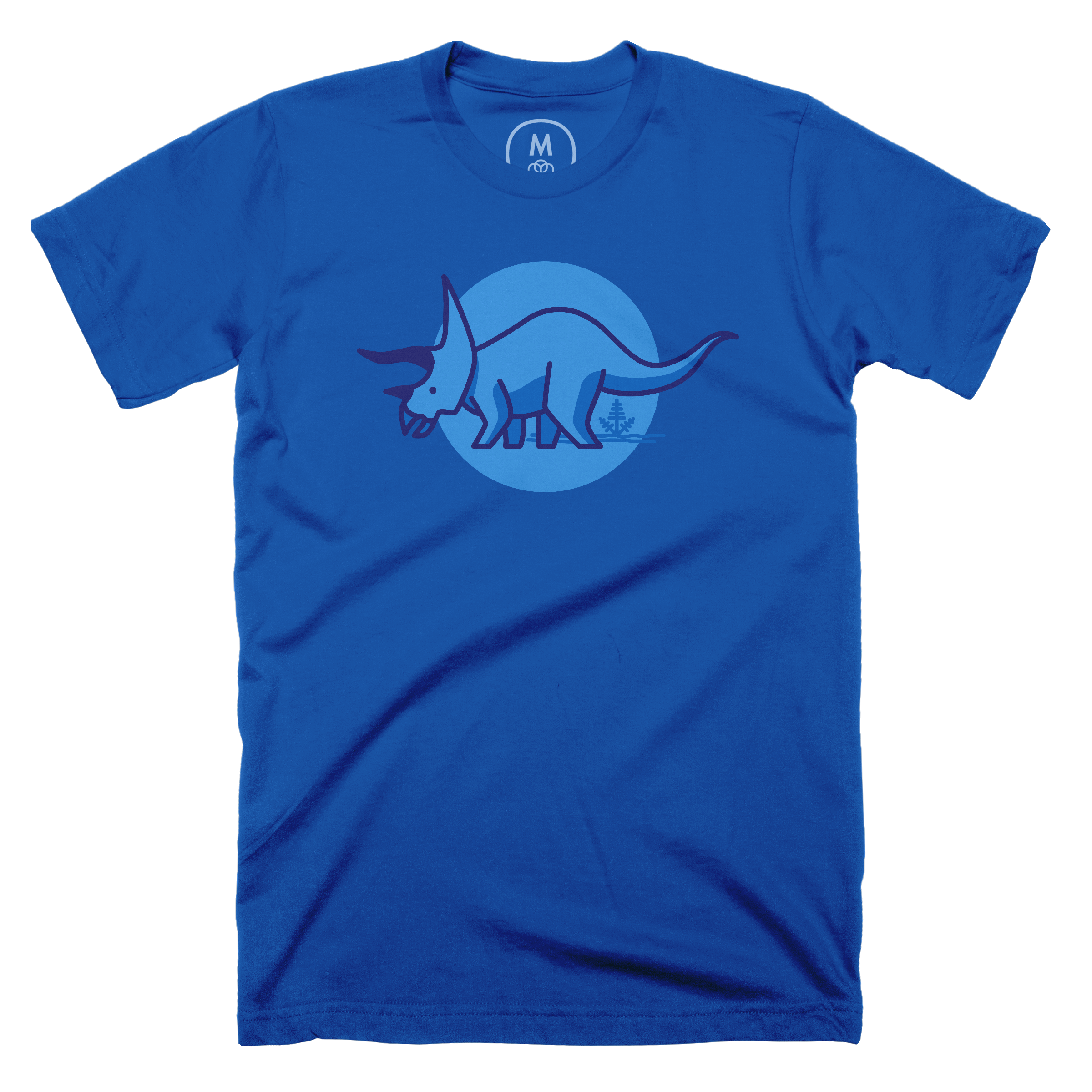 Tee is for Triceratops Royal (Men's)