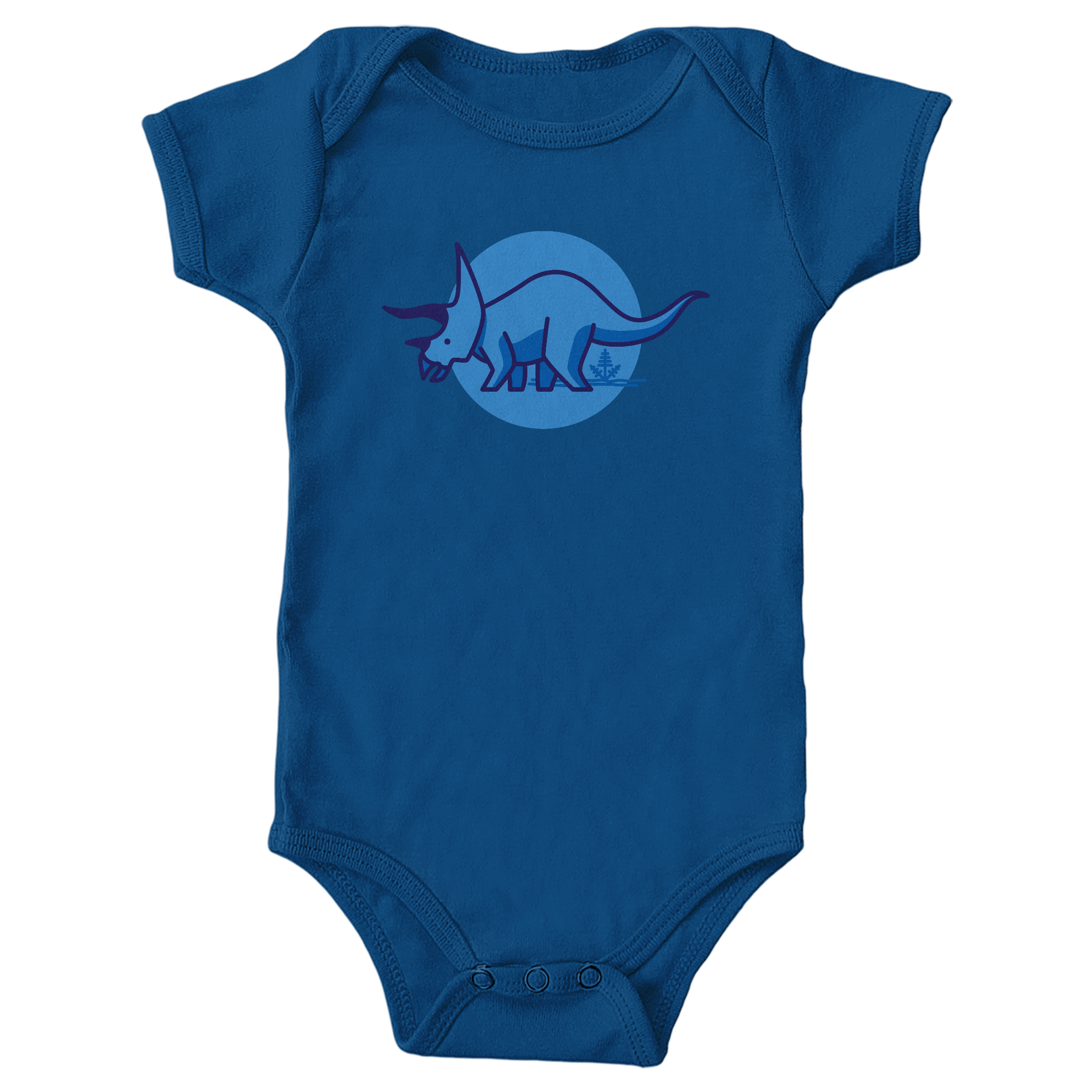 Tee is for Triceratops Royal (Onesie)