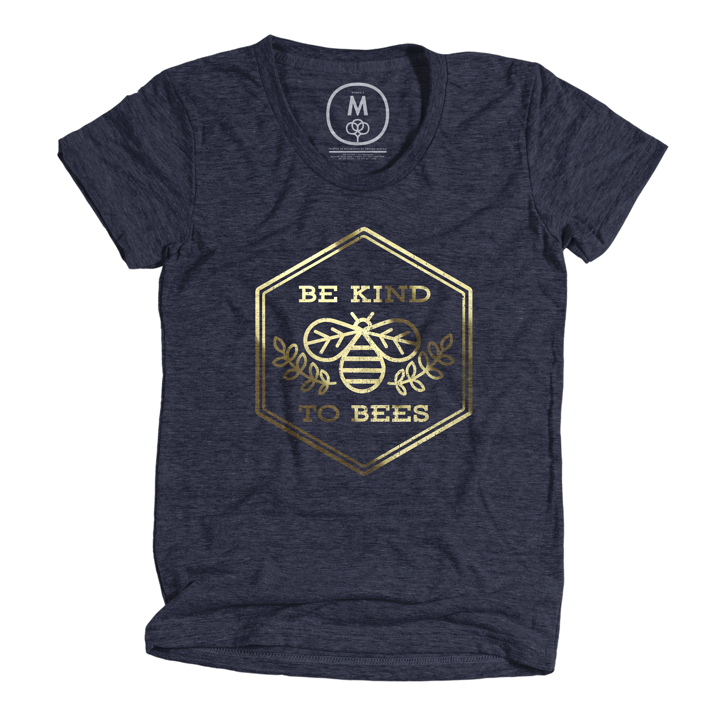 Be Kind to Bees Vintage Navy (Women's)