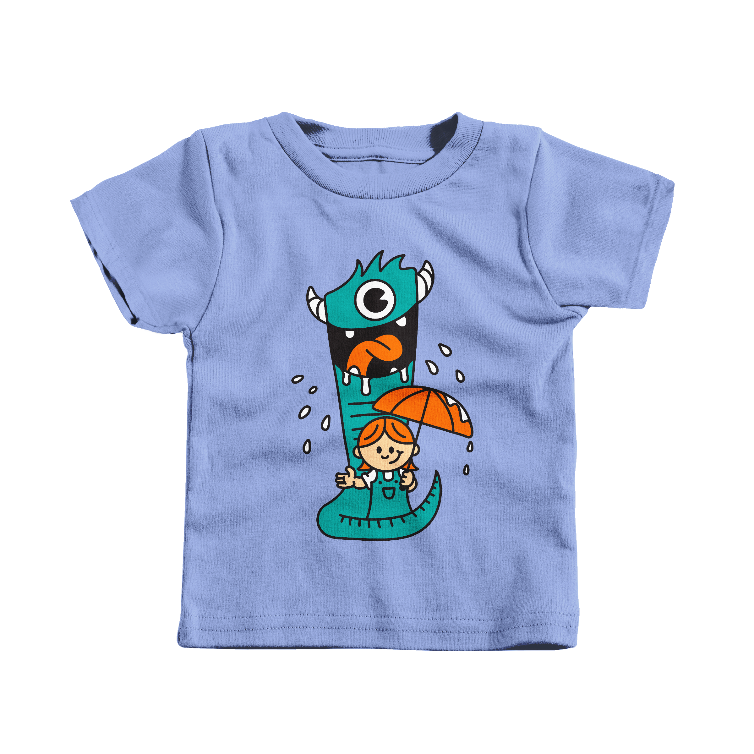 Monster Pet Carolina Blue (T-Shirt)