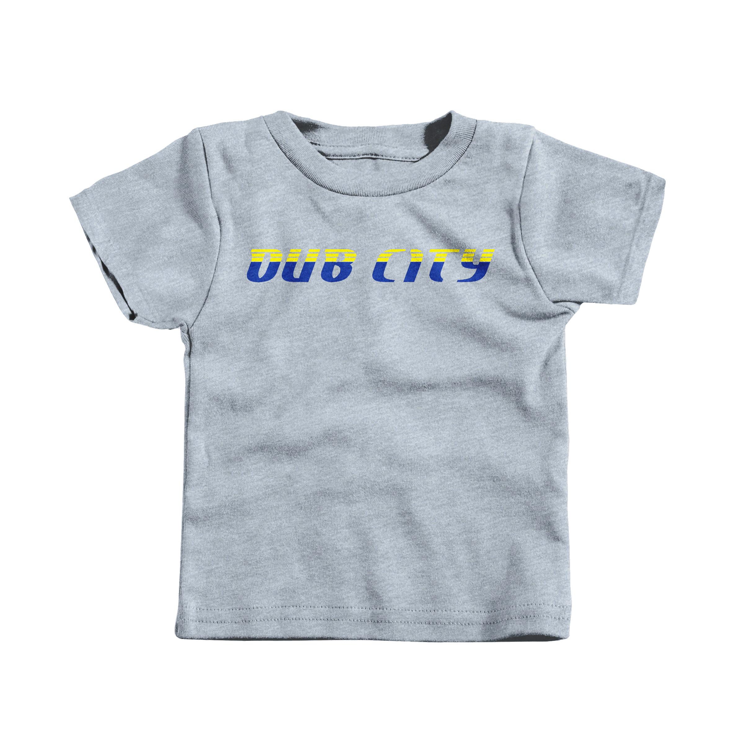 Dub City Two-tone Heather Grey (T-Shirt)