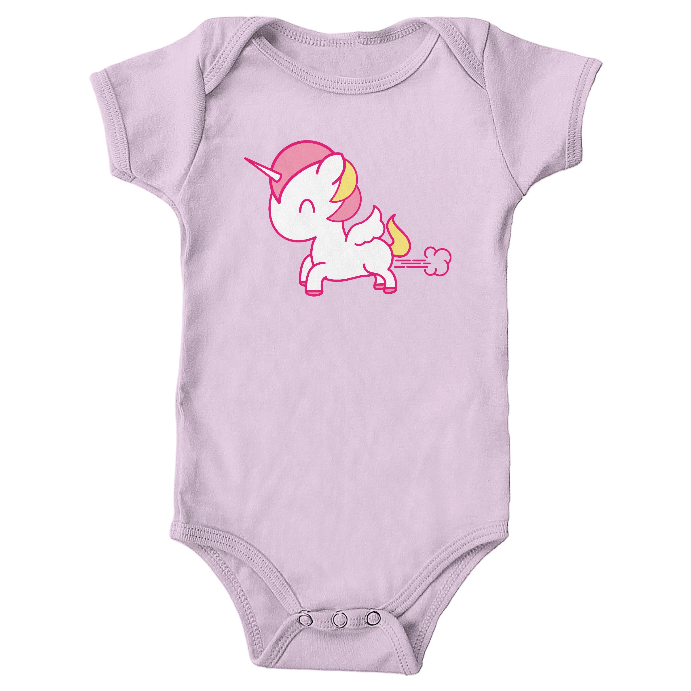 Unicorn Toot Pink (Onesie)