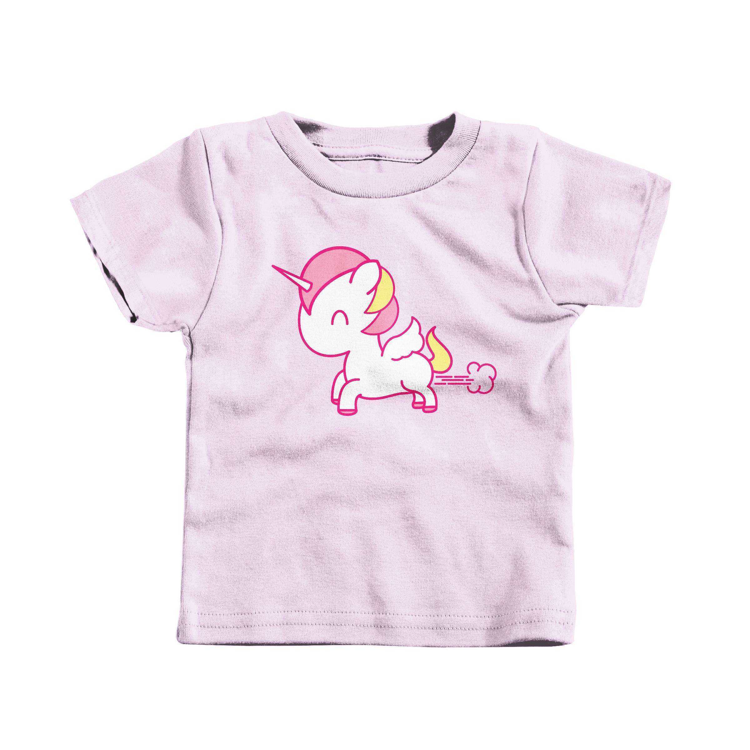 Unicorn Toot Pink (T-Shirt)