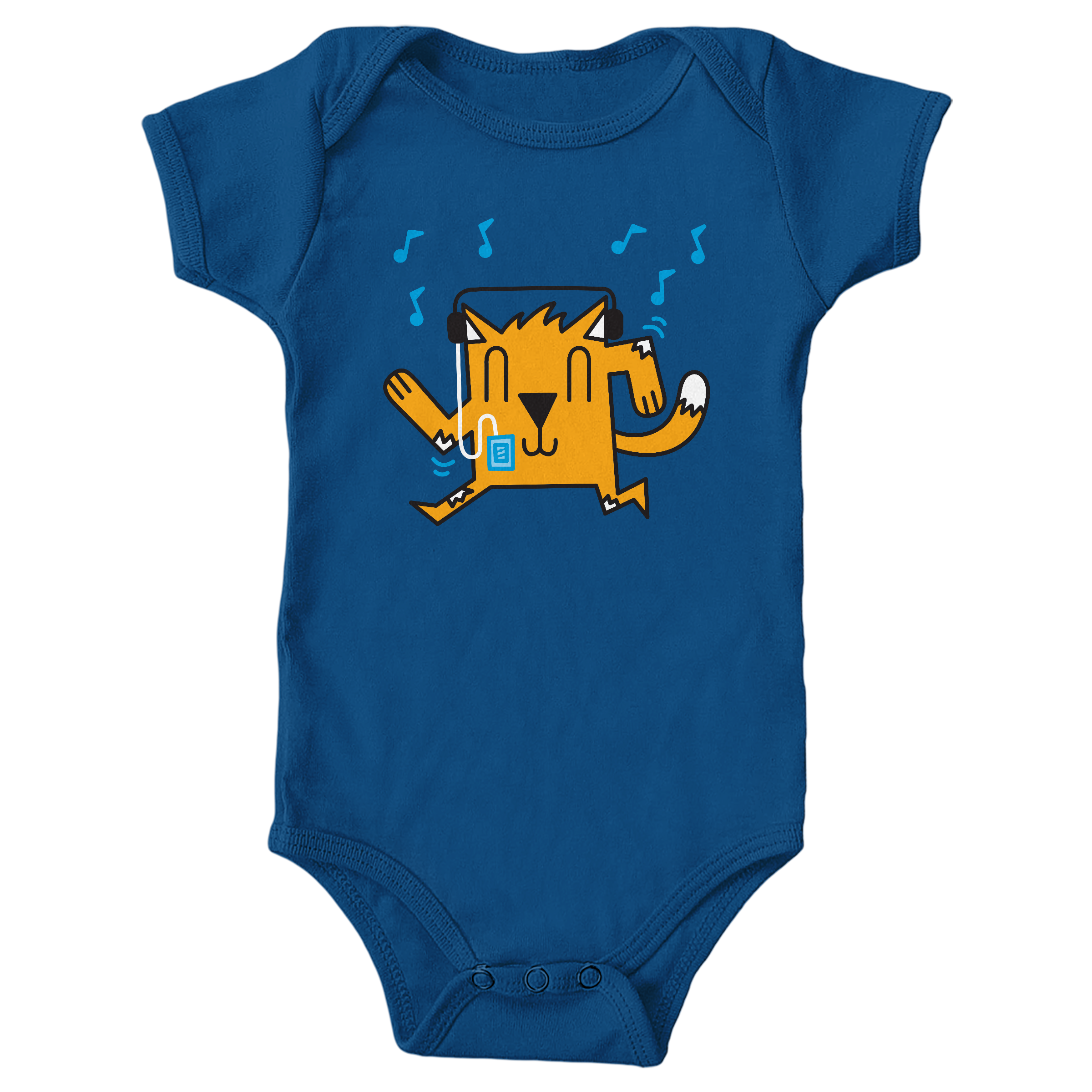 Dancing Cat Royal (Onesie)
