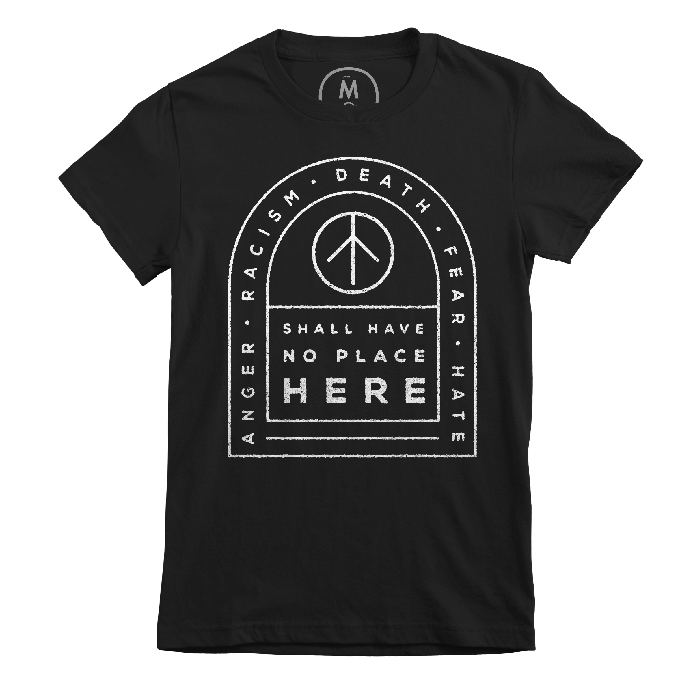 NO PLACE HERE Black (Women's)