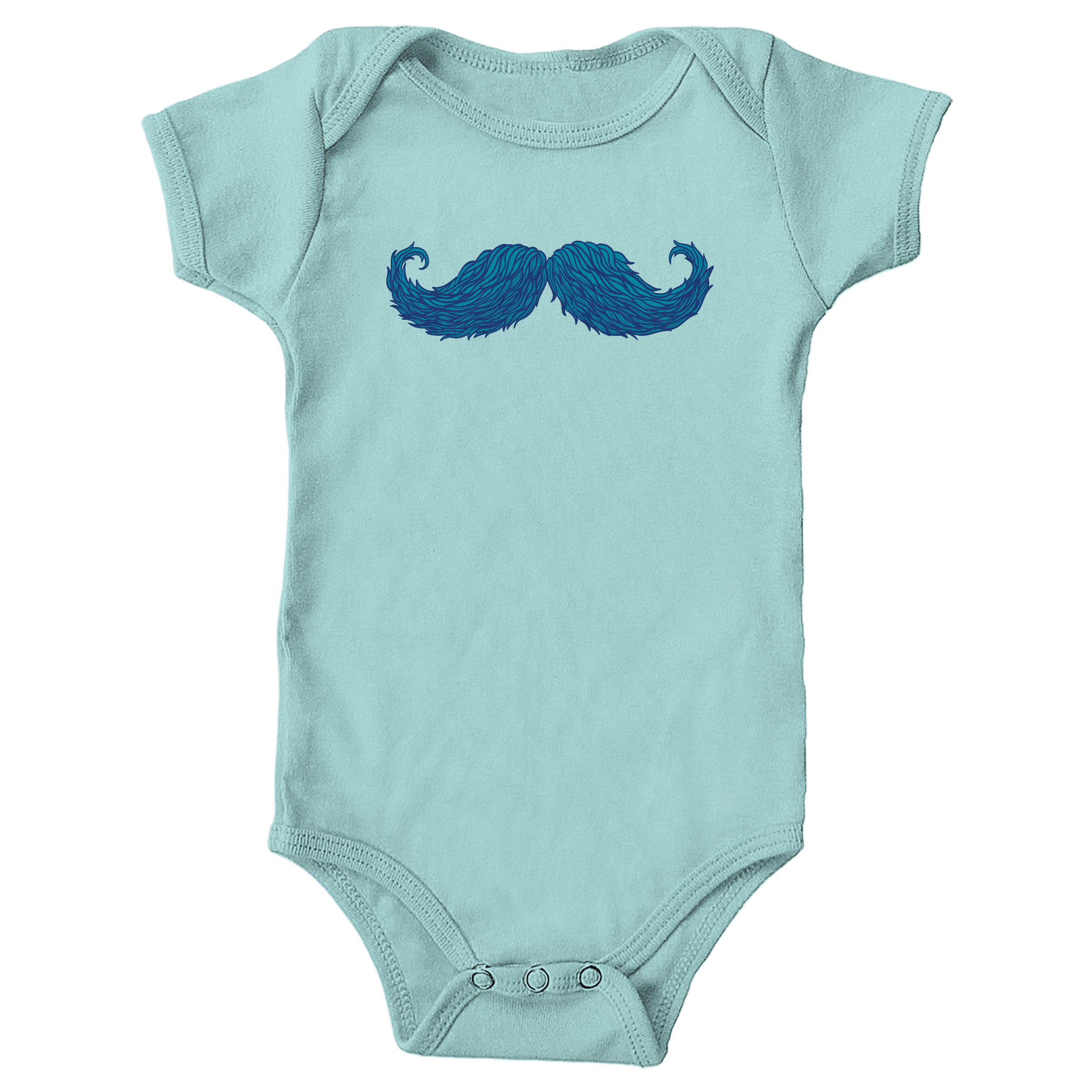 The Cheering Up Mustache Chill (Onesie)