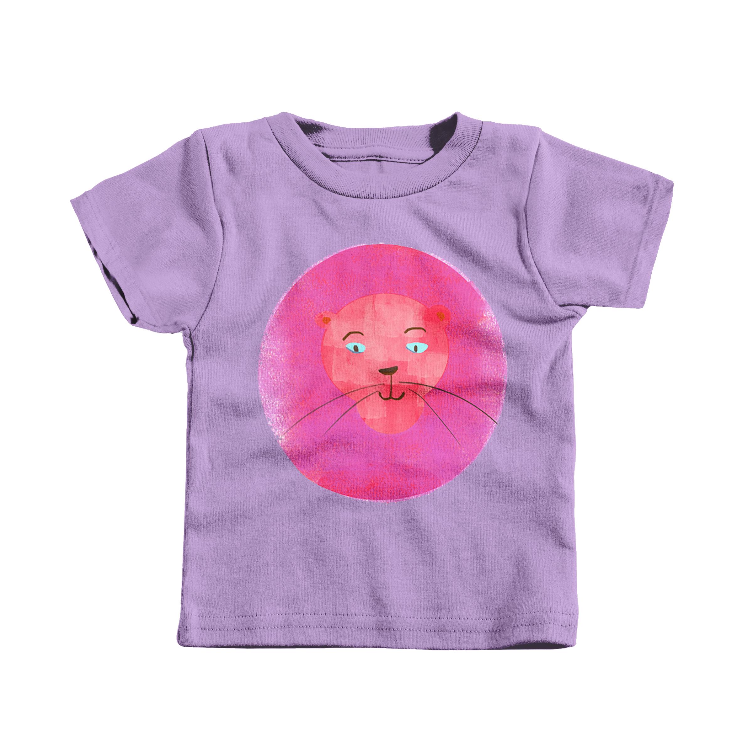 King of the Technicolor Jungle Lavender (T-Shirt)