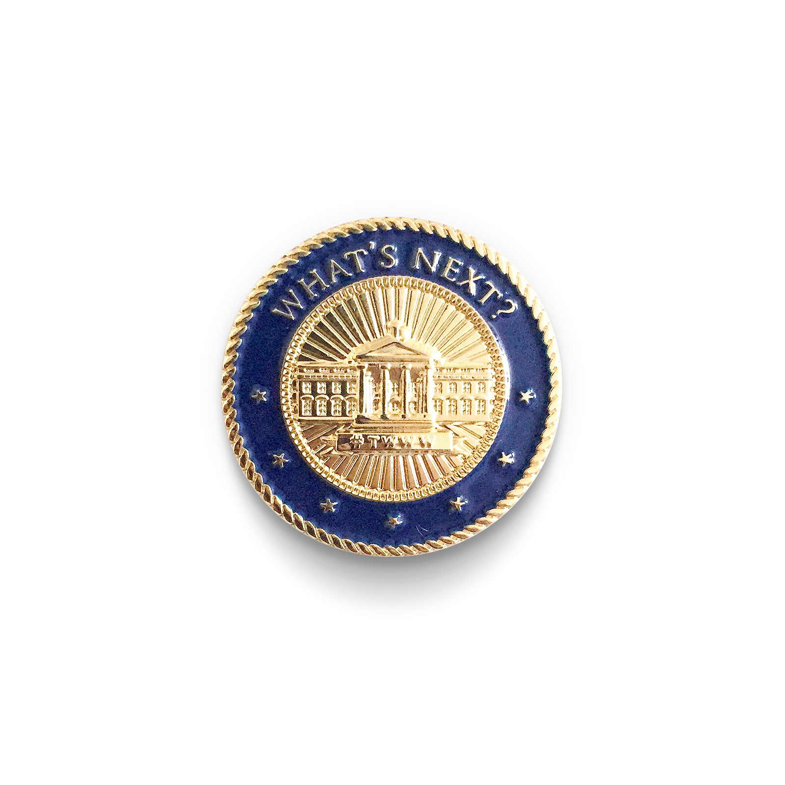 The West Wing Weekly Lapel Pin