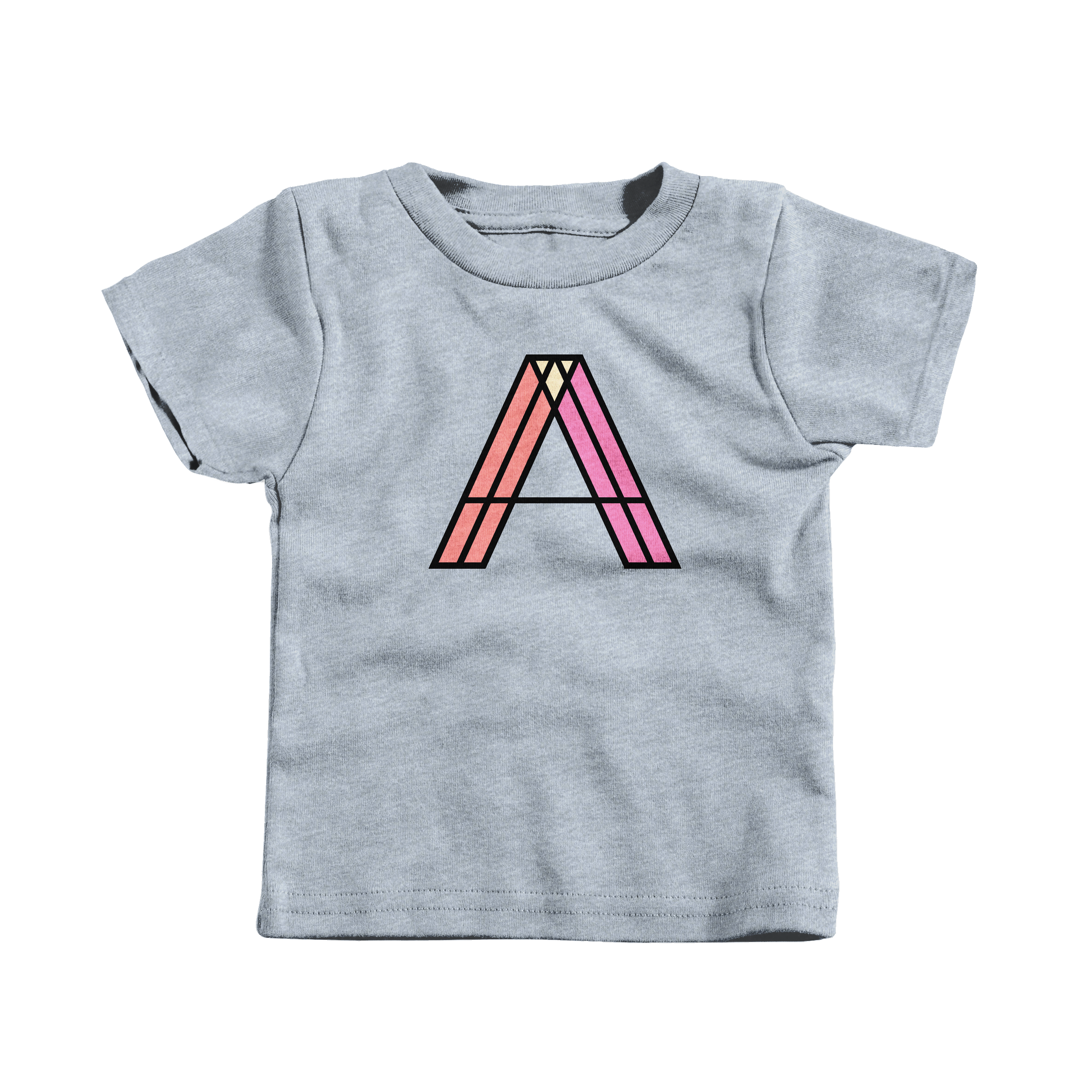 Letter A Heather Grey (T-Shirt)