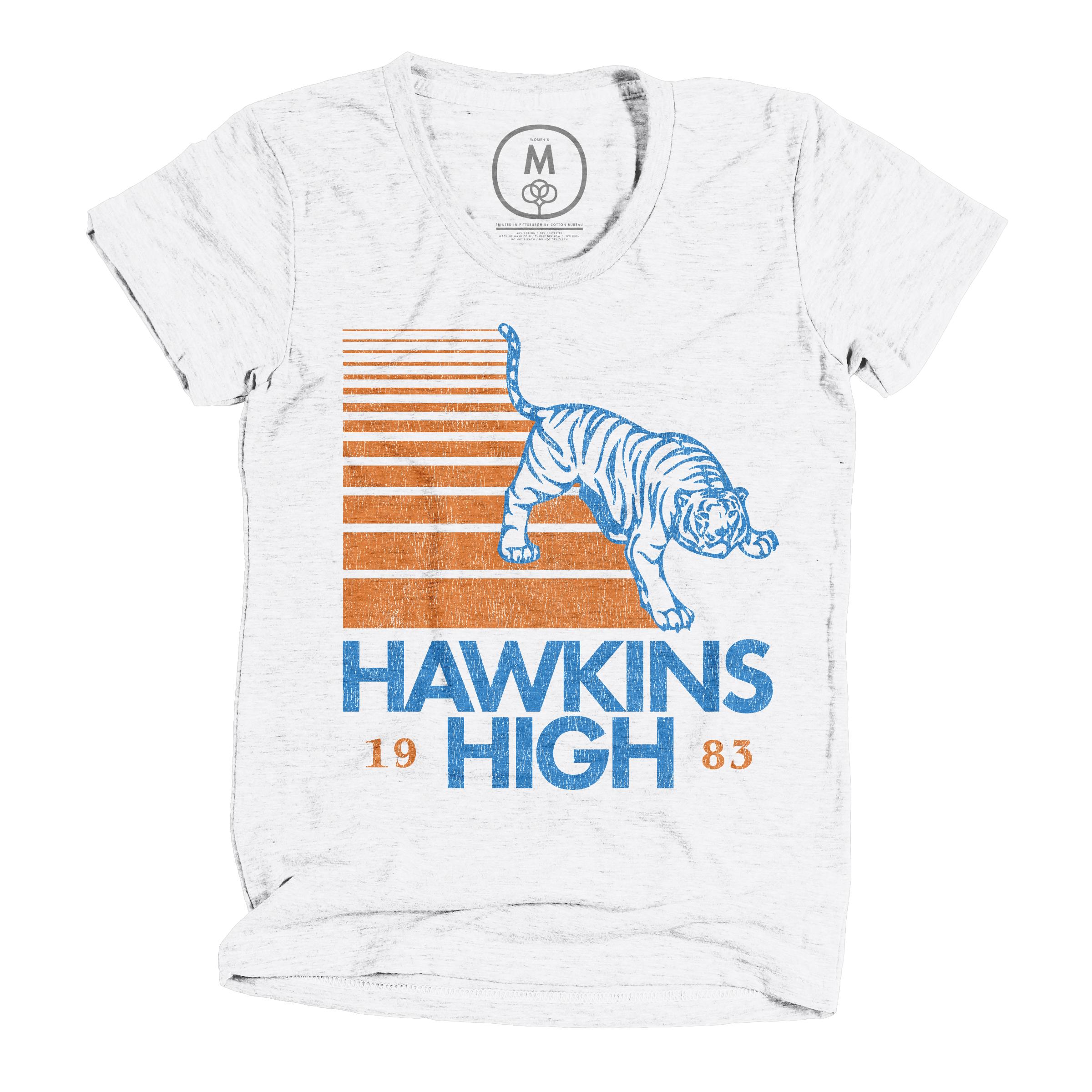 Hawkins High Heather White (Women's)