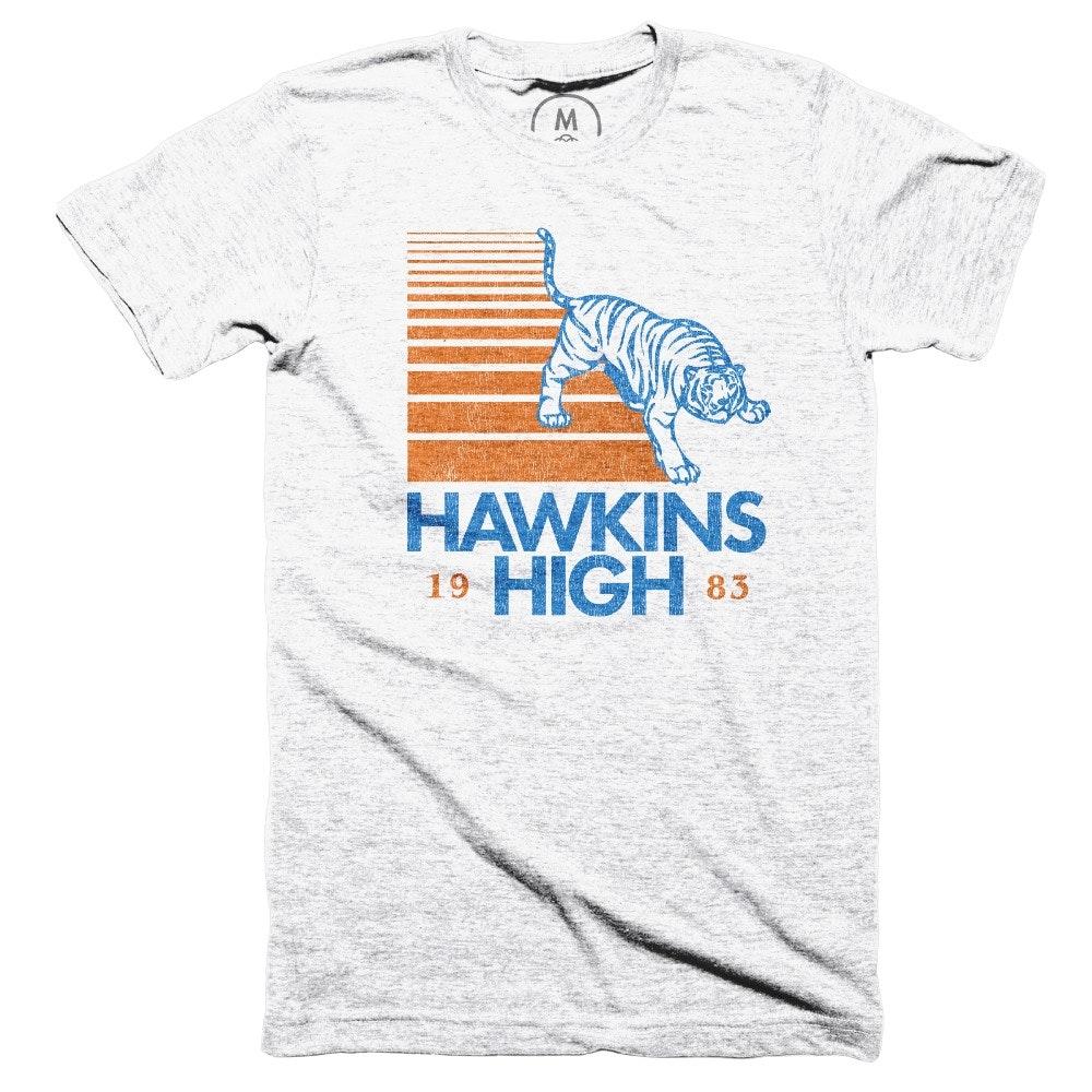 Hawkins High Heather White (Men's)