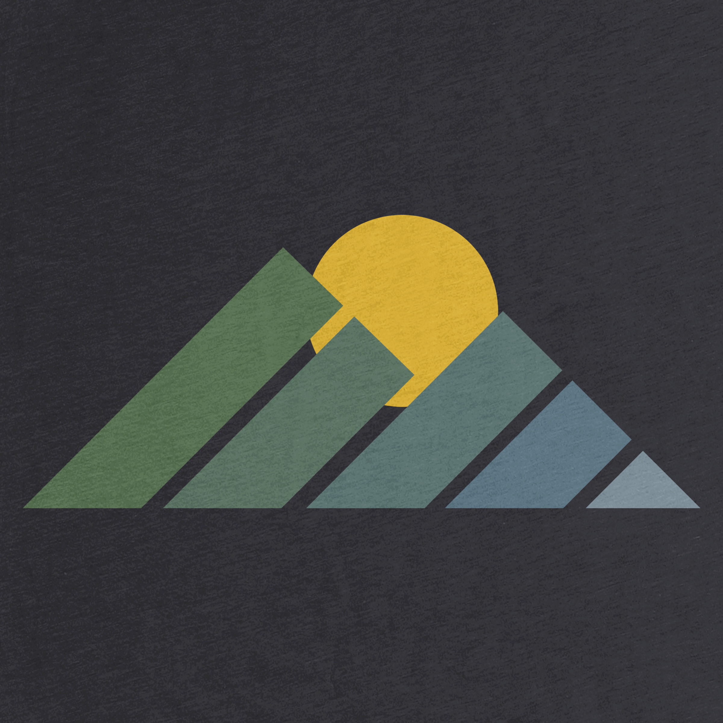Mountain Sunset Detail
