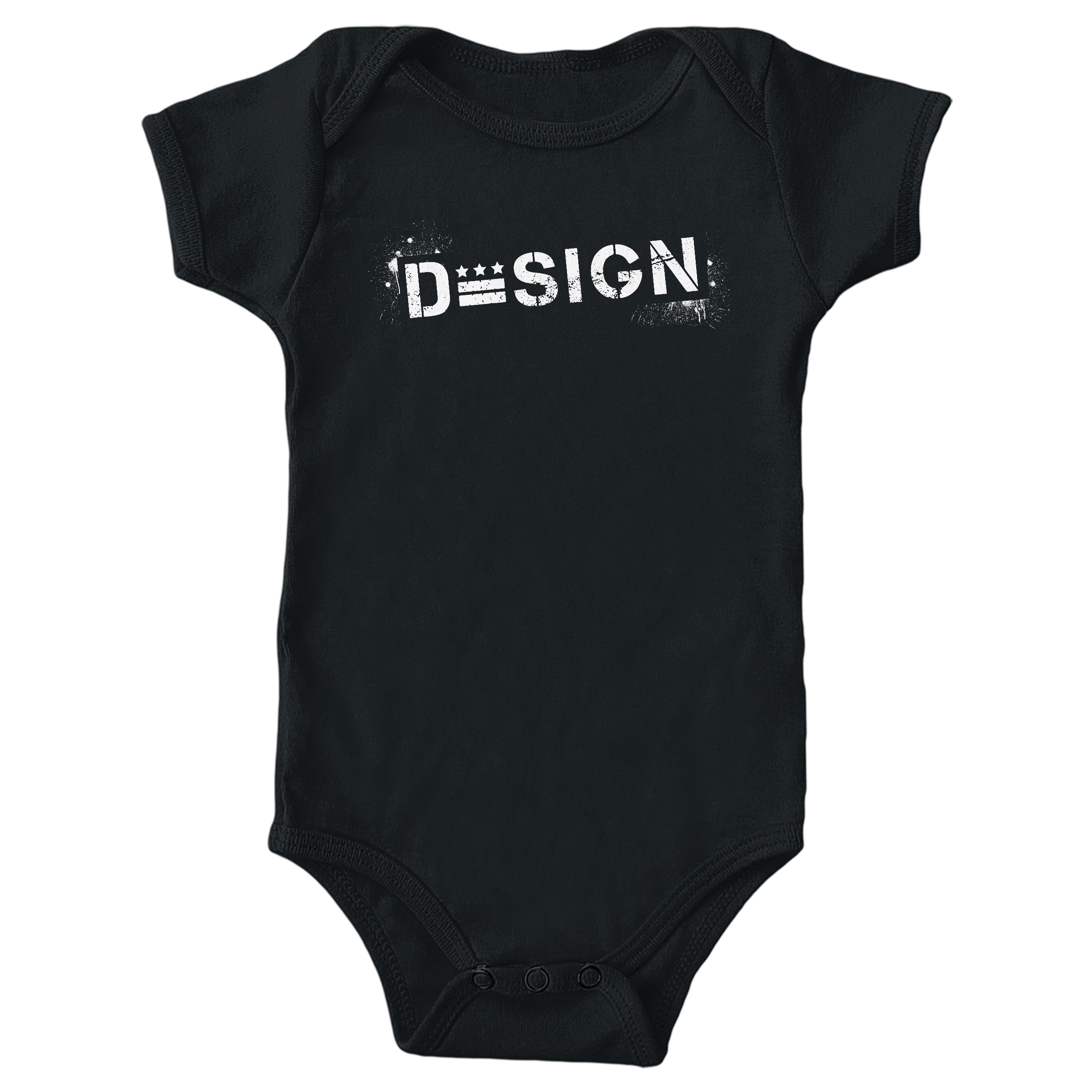 DC Design Black (Onesie)