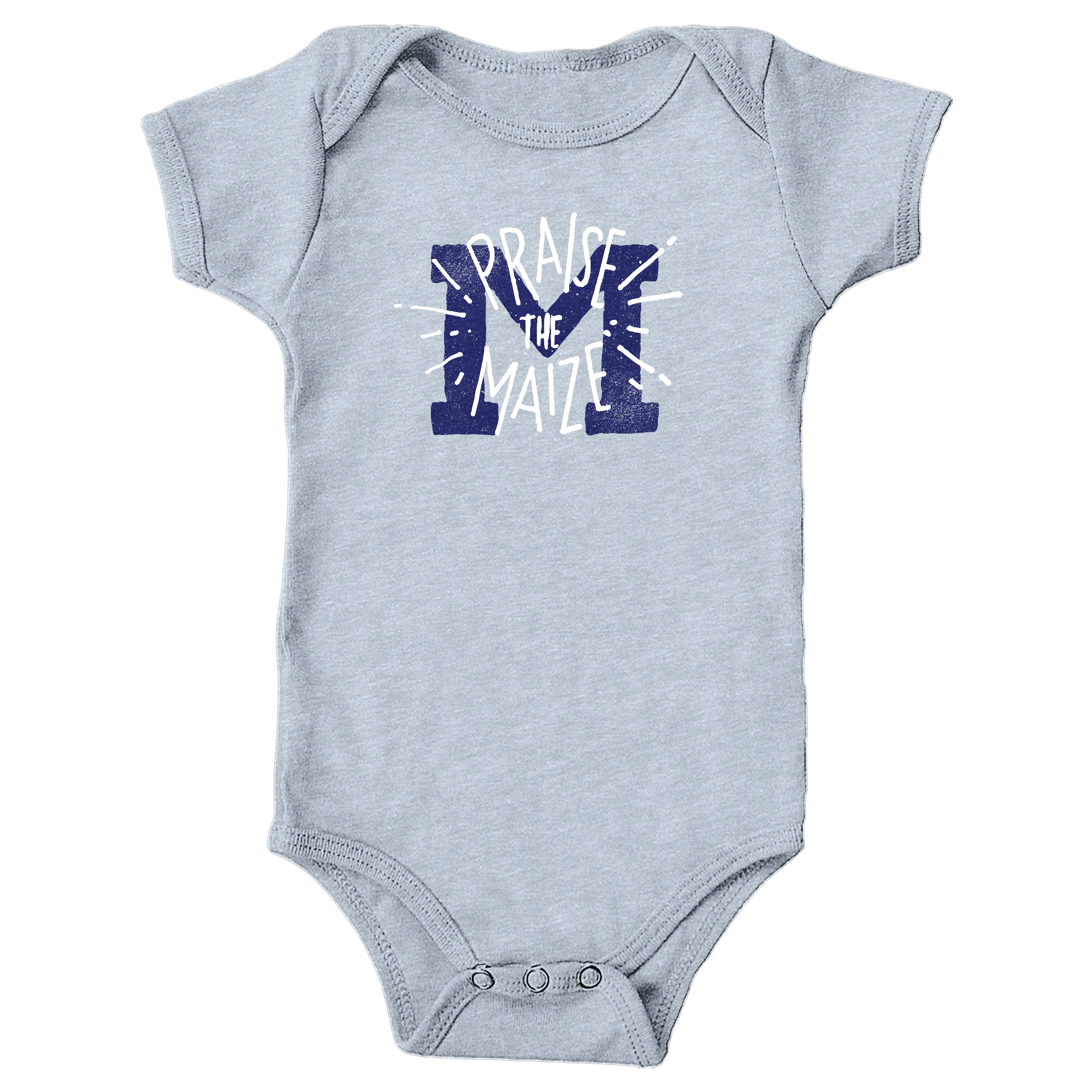 Praise The Maize Heather Grey (Onesie)