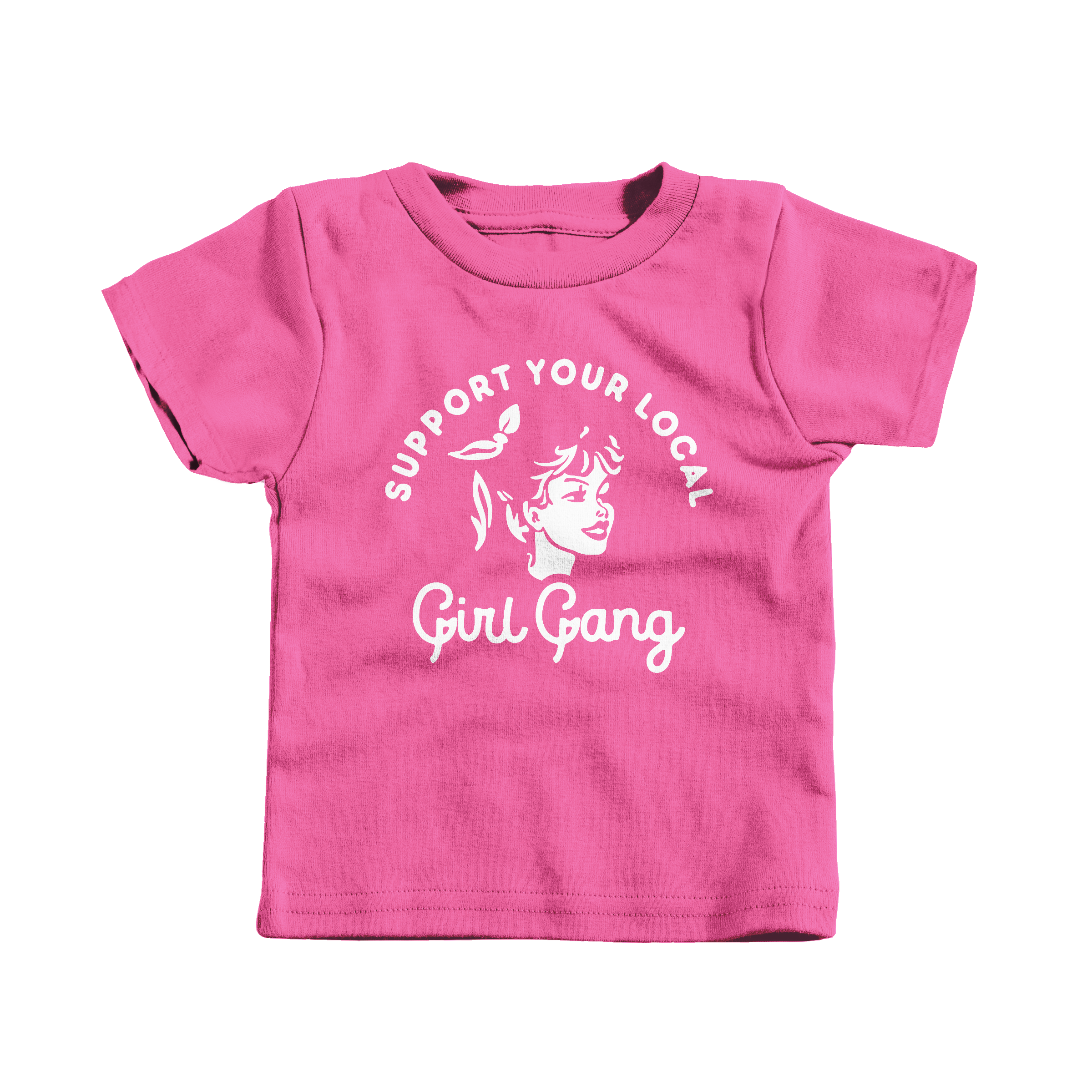 Girl Gang Hot Pink (T-Shirt)
