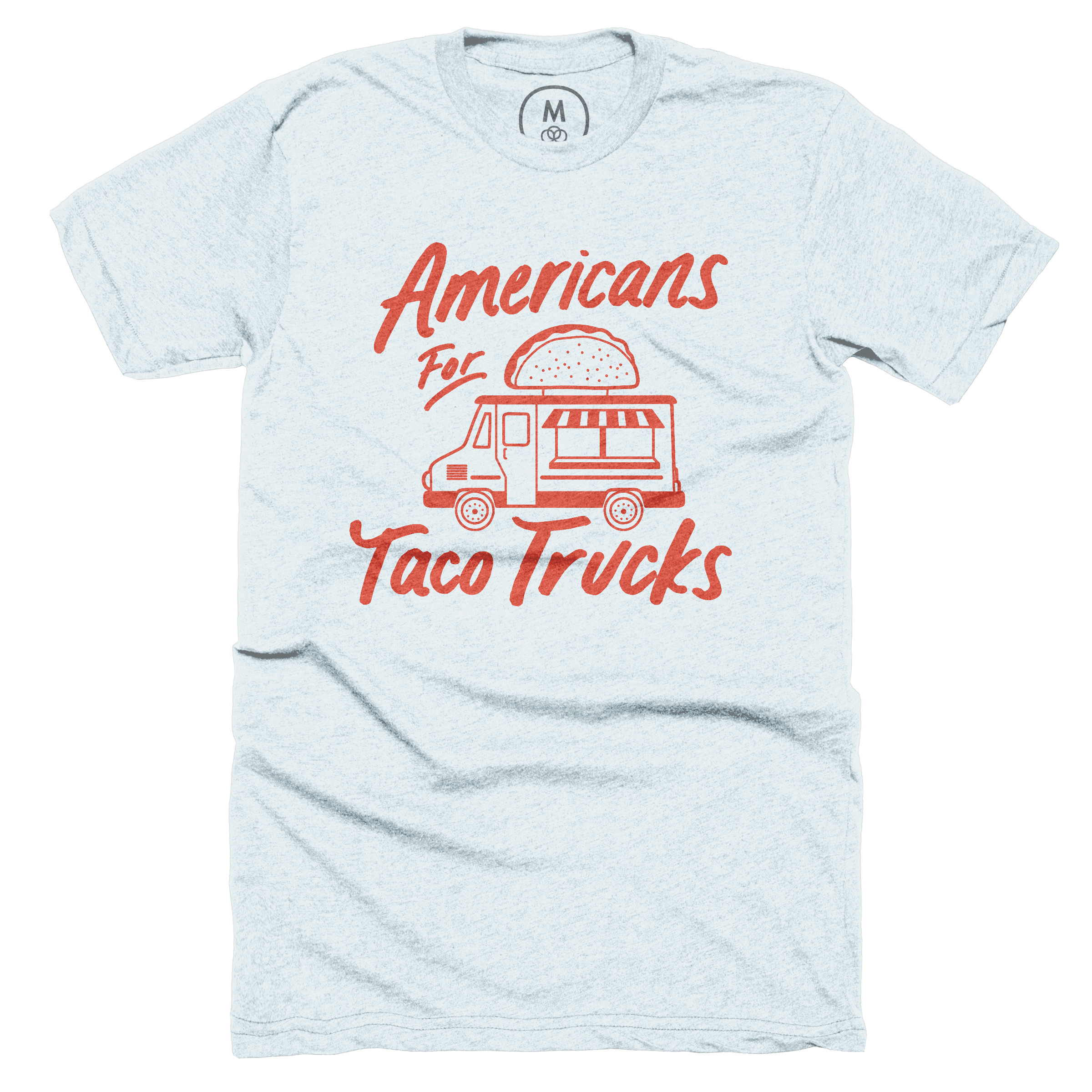 Americans For Taco Trucks Ice Blue (Men's)