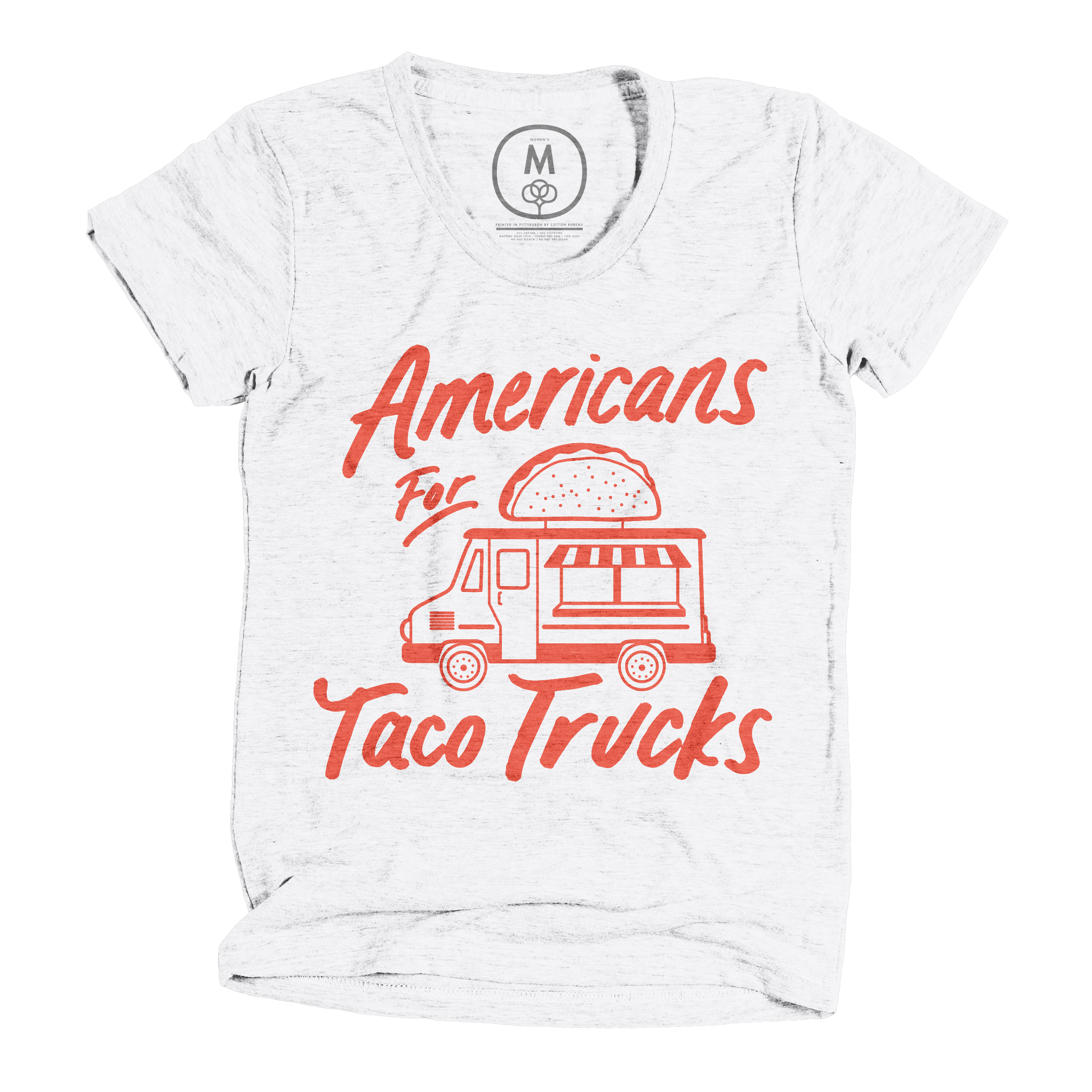 Americans For Taco Trucks Heather White (Women's)