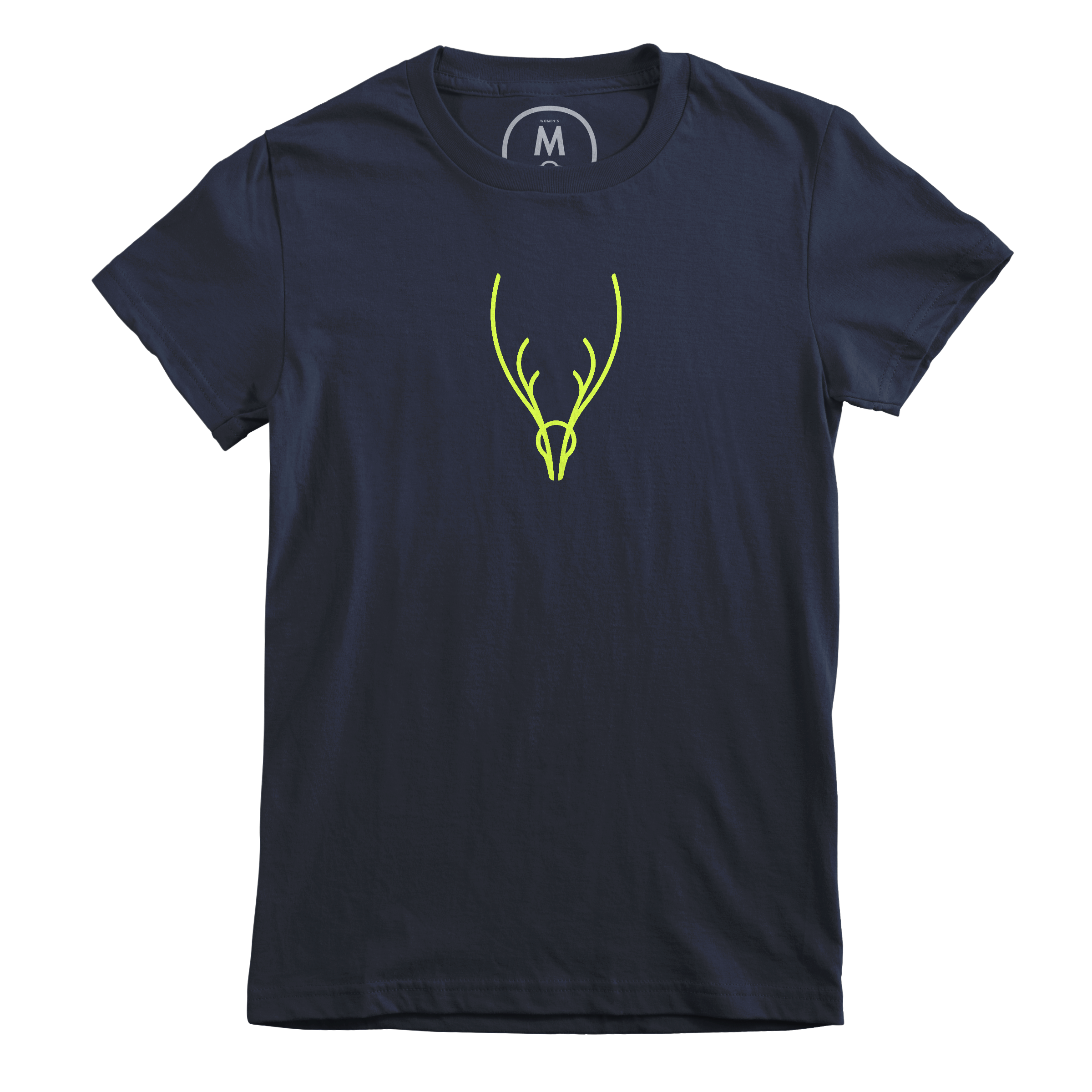 Neon Antlers Midnight Navy (Women's)