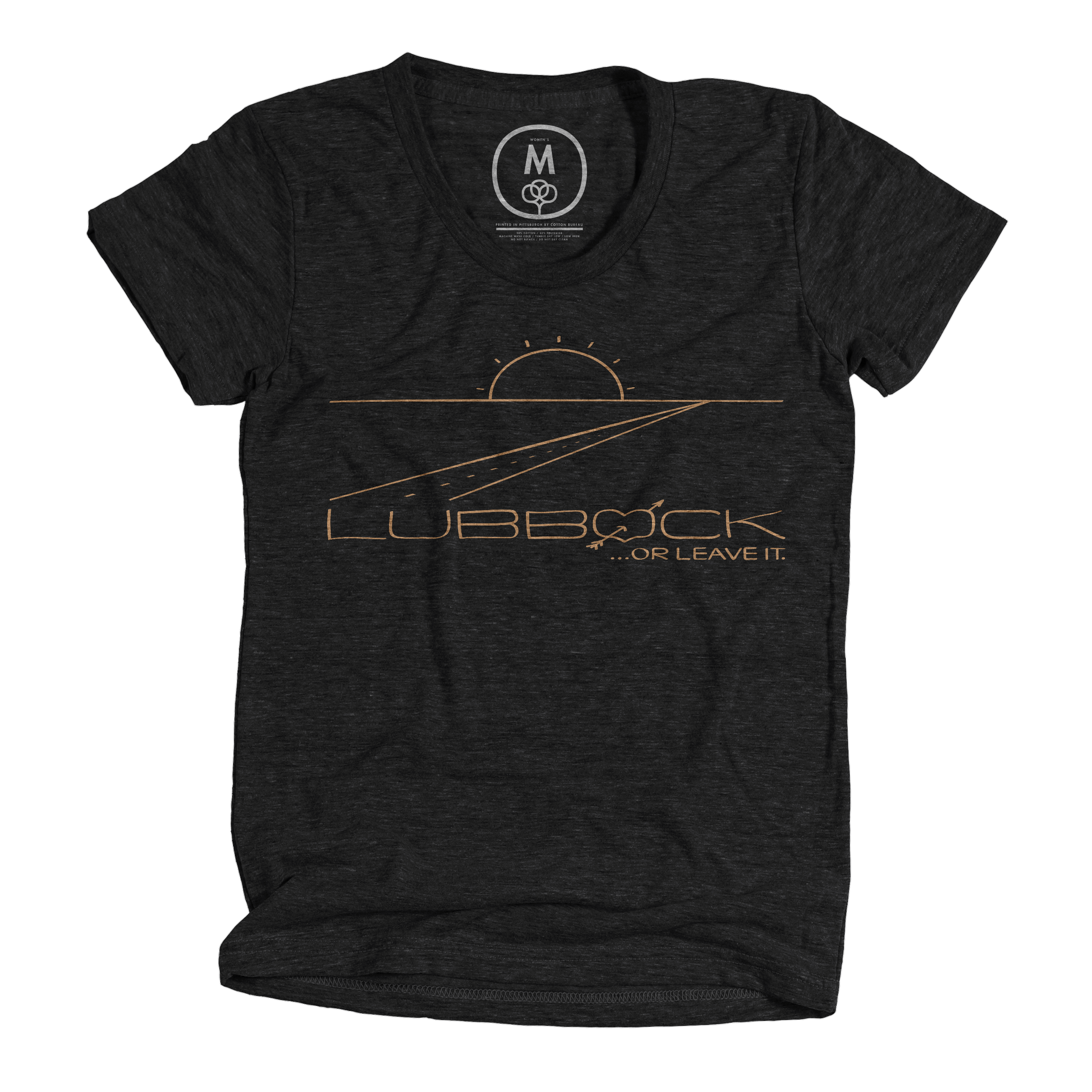 Lubbock or Leave It. Vintage Black (Men's)