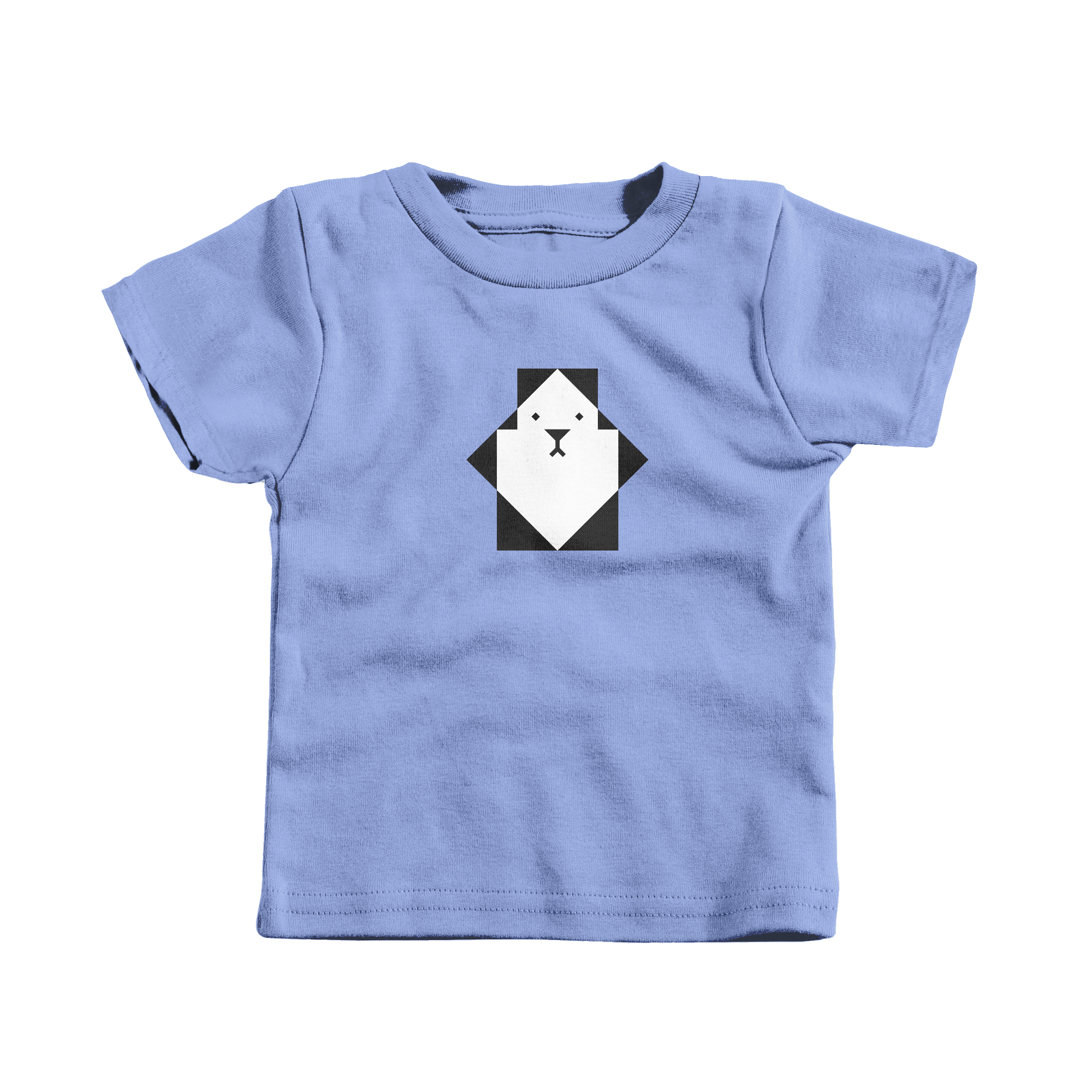 Pixel Panda Carolina Blue (T-Shirt)