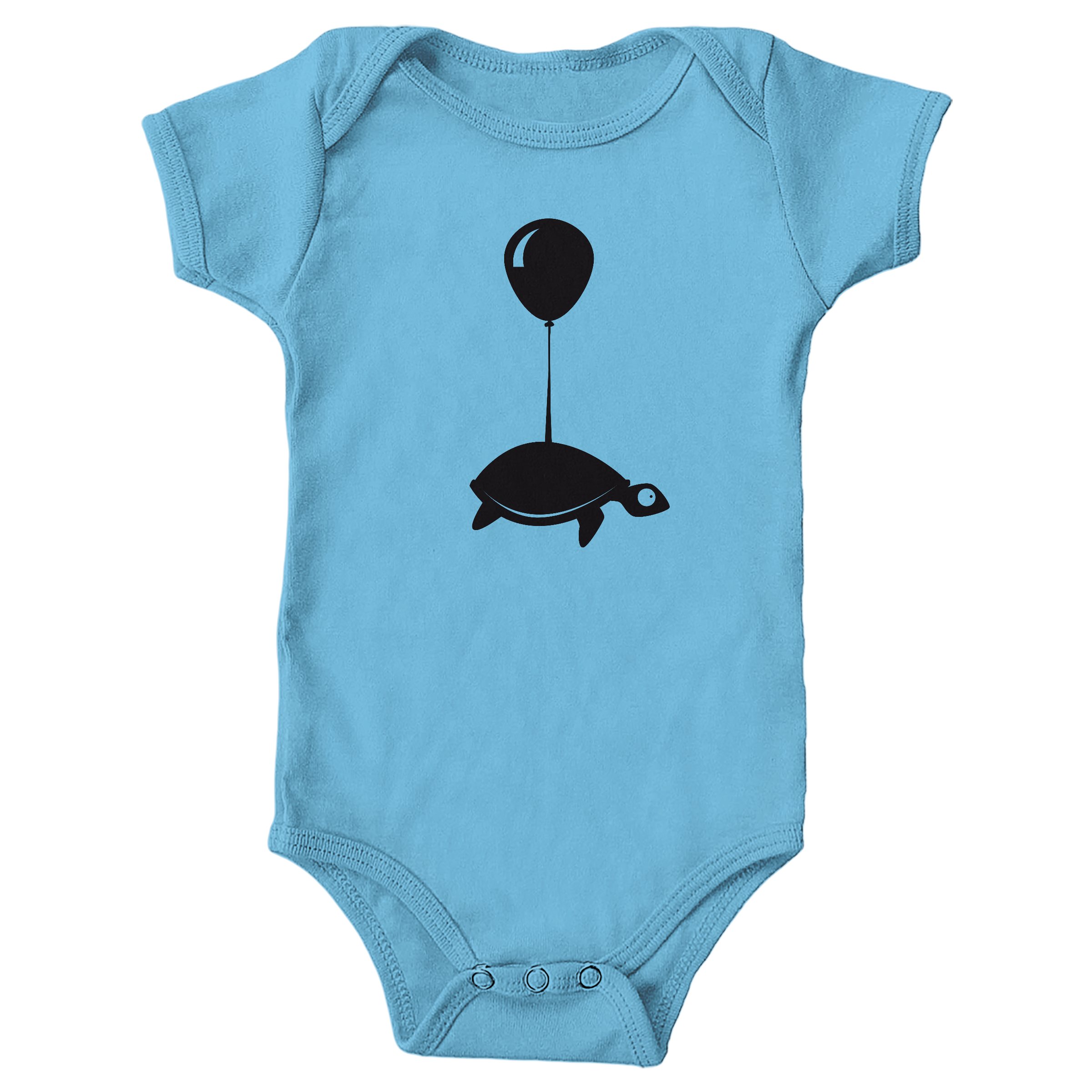 Traveling Turtle Light Blue (Onesie)