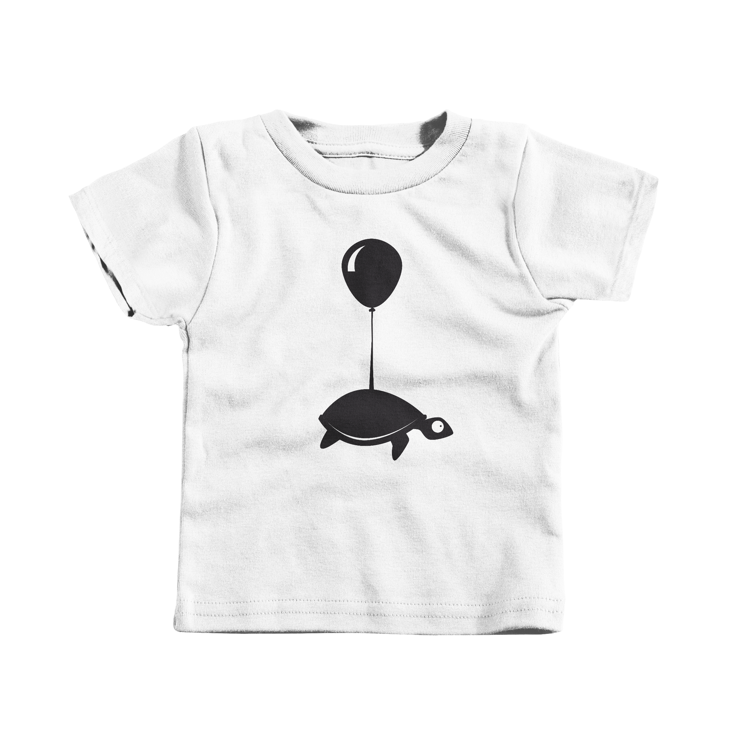 Traveling Turtle White (T-Shirt)