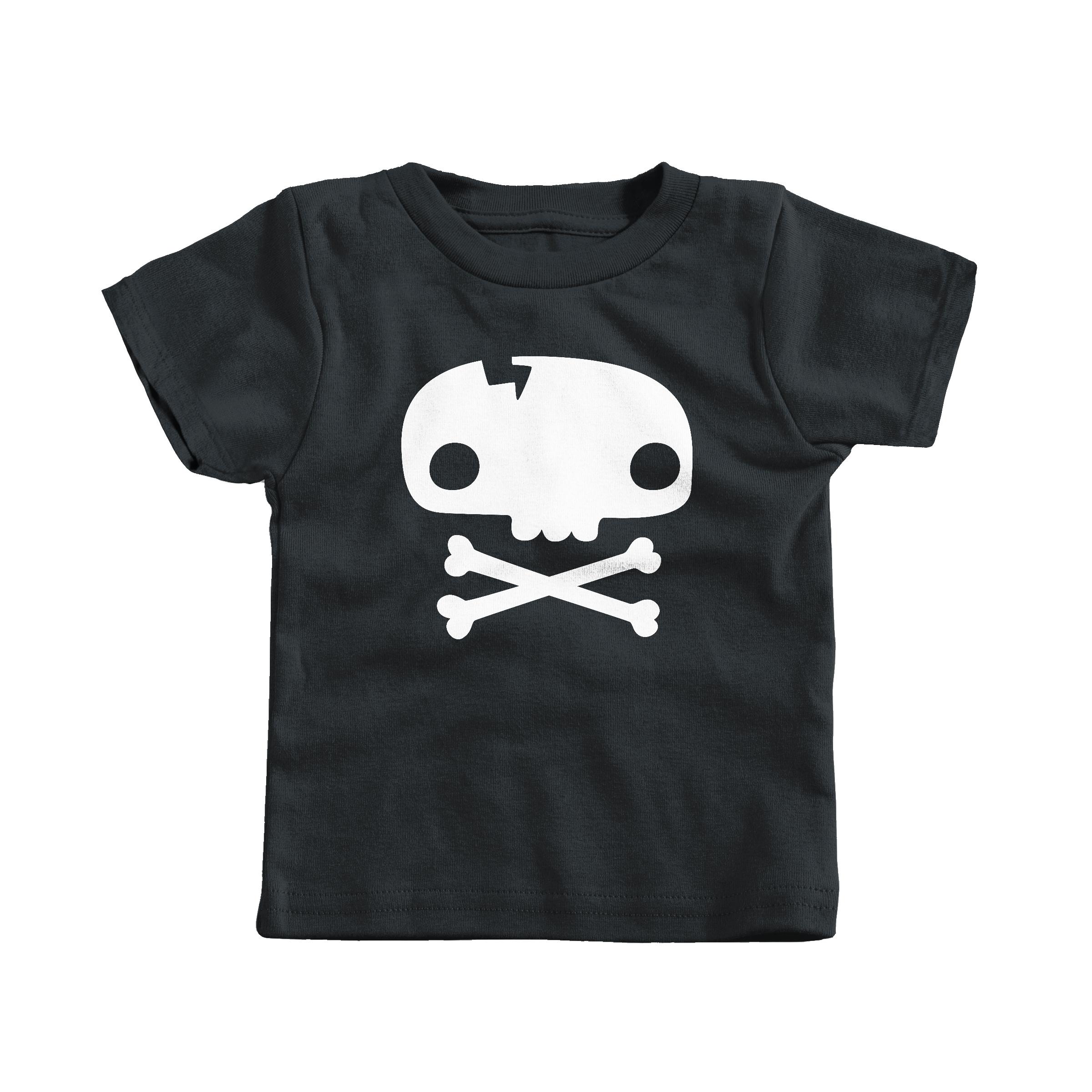 Skull Tee Black (T-Shirt)