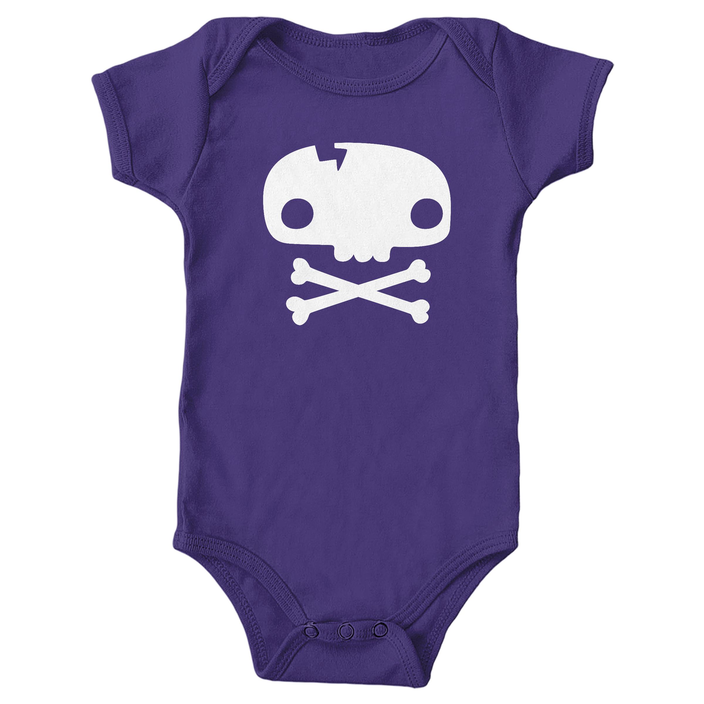 Skull Tee Purple (Onesie)
