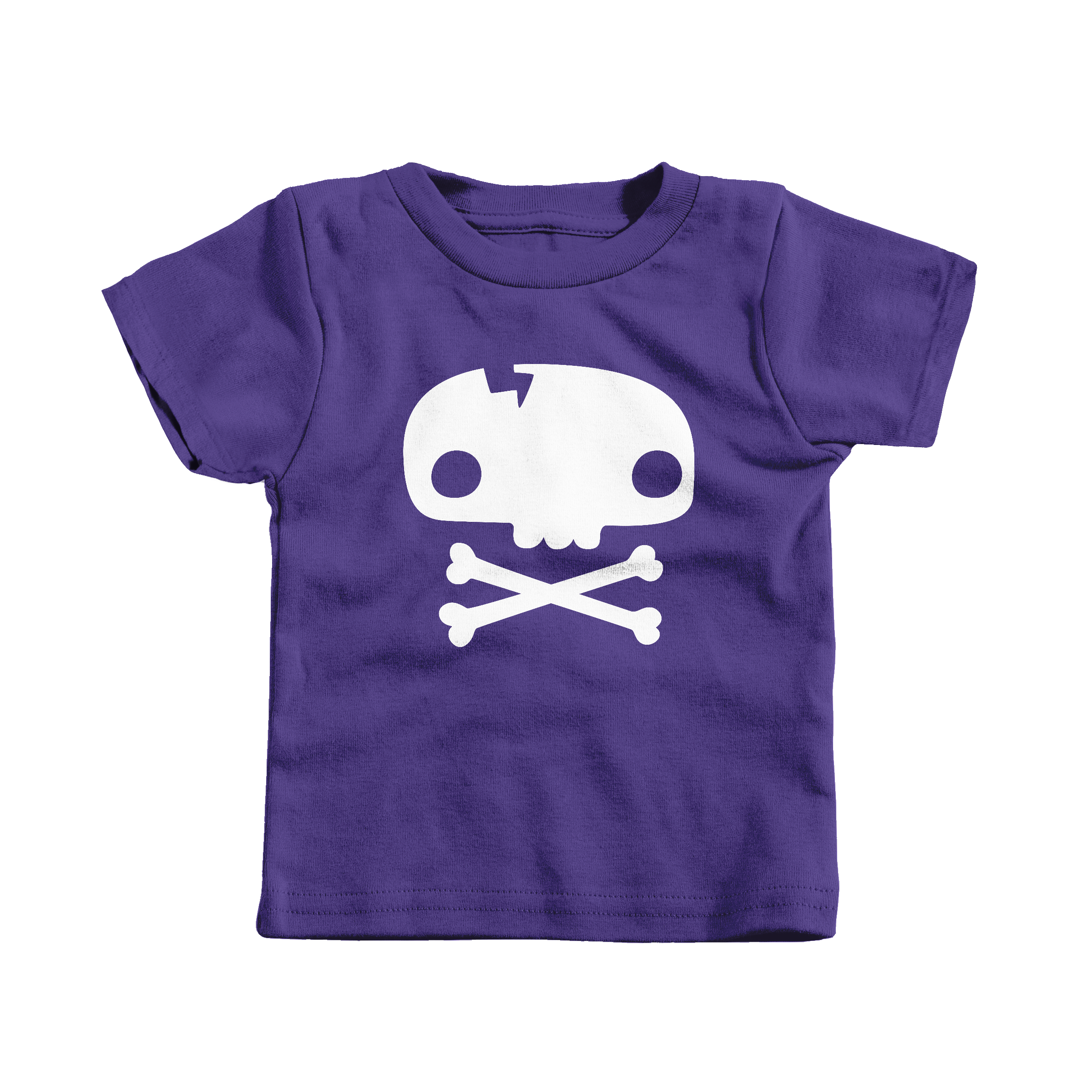 Skull Tee Purple (T-Shirt)