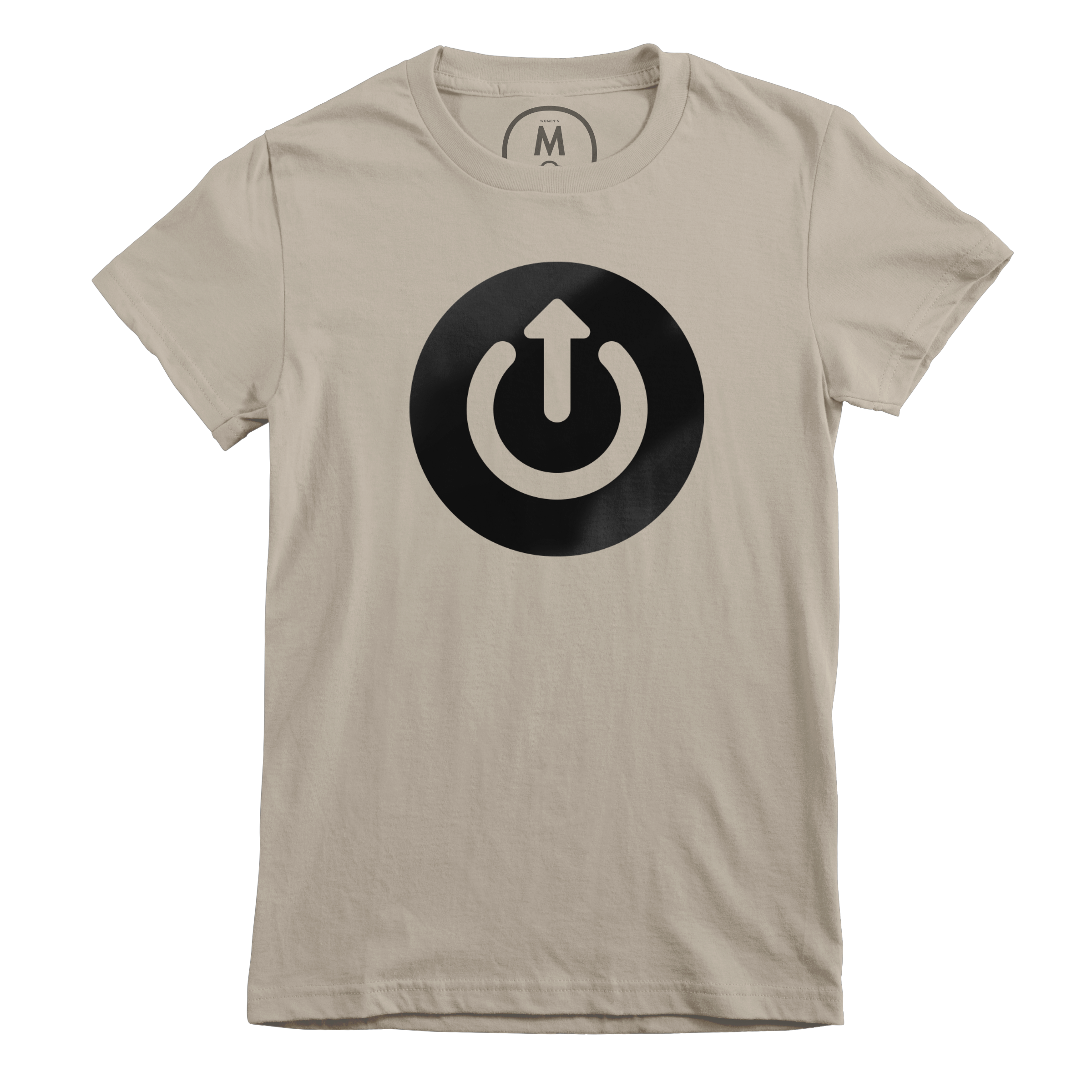 Upgrade Podcast Official Logo Tee Warm Grey (Women's)