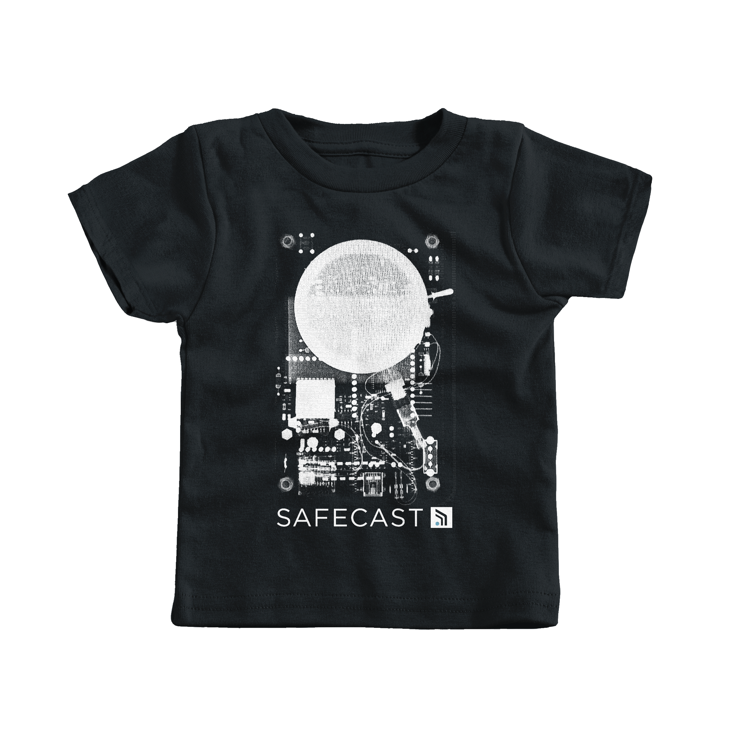 Safecast bGeigie X-ray Black (T-Shirt)