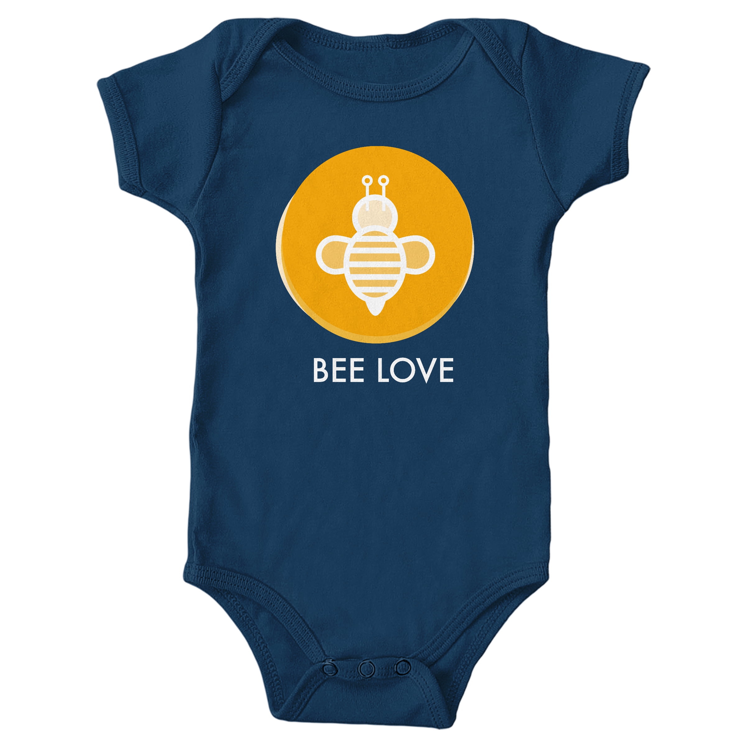 Bee Love Navy (Onesie)