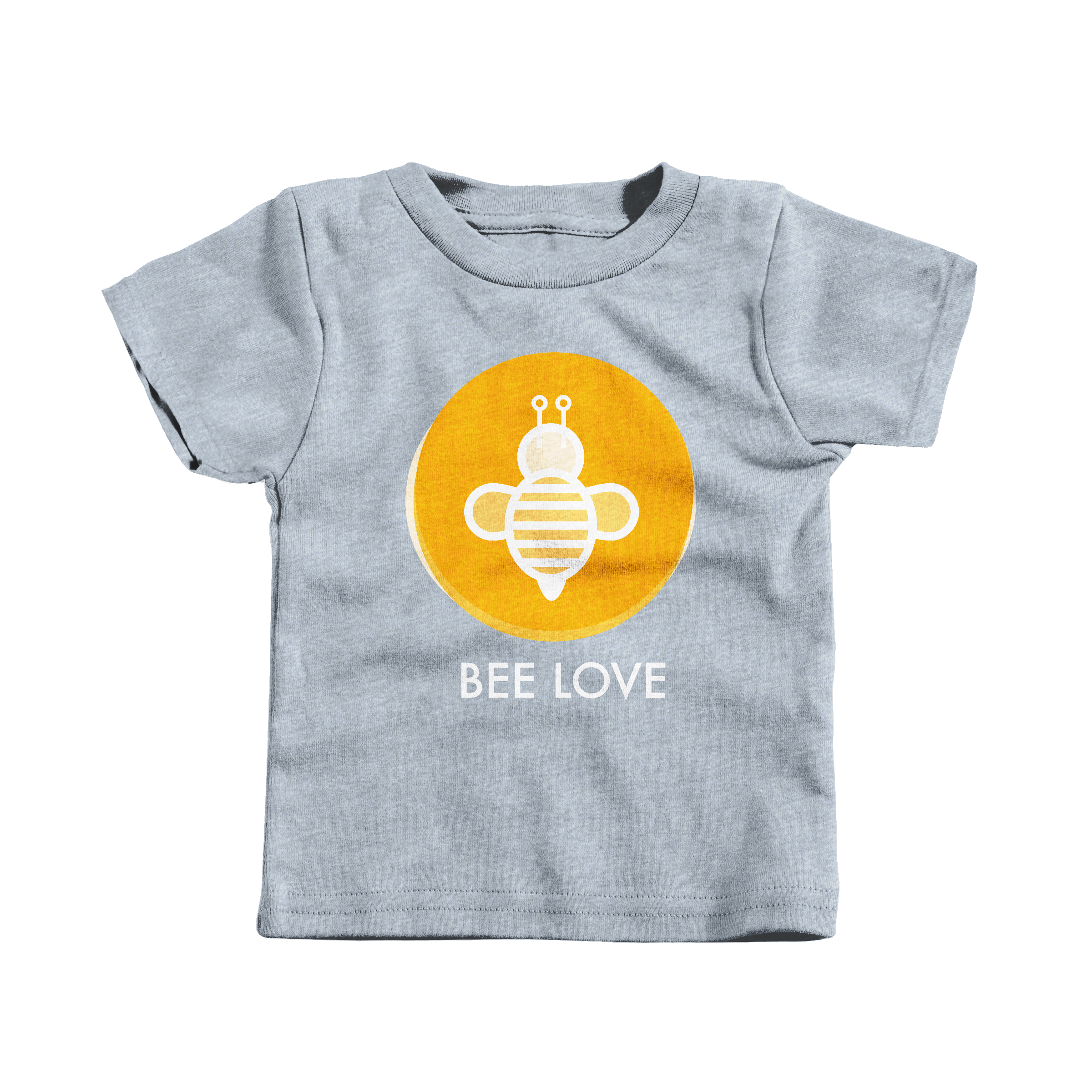 Bee Love Heather Grey (T-Shirt)