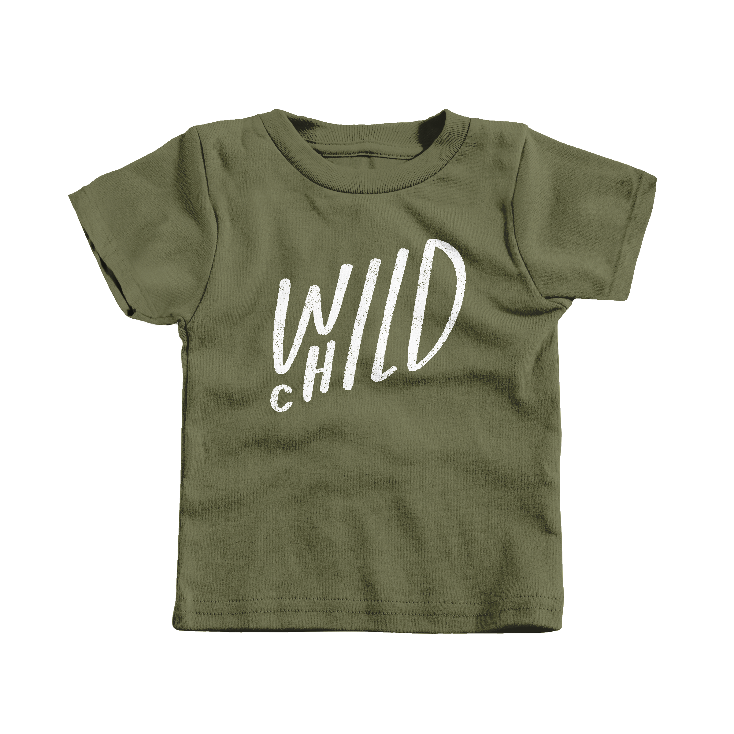 Wild Child Military Green (T-Shirt)