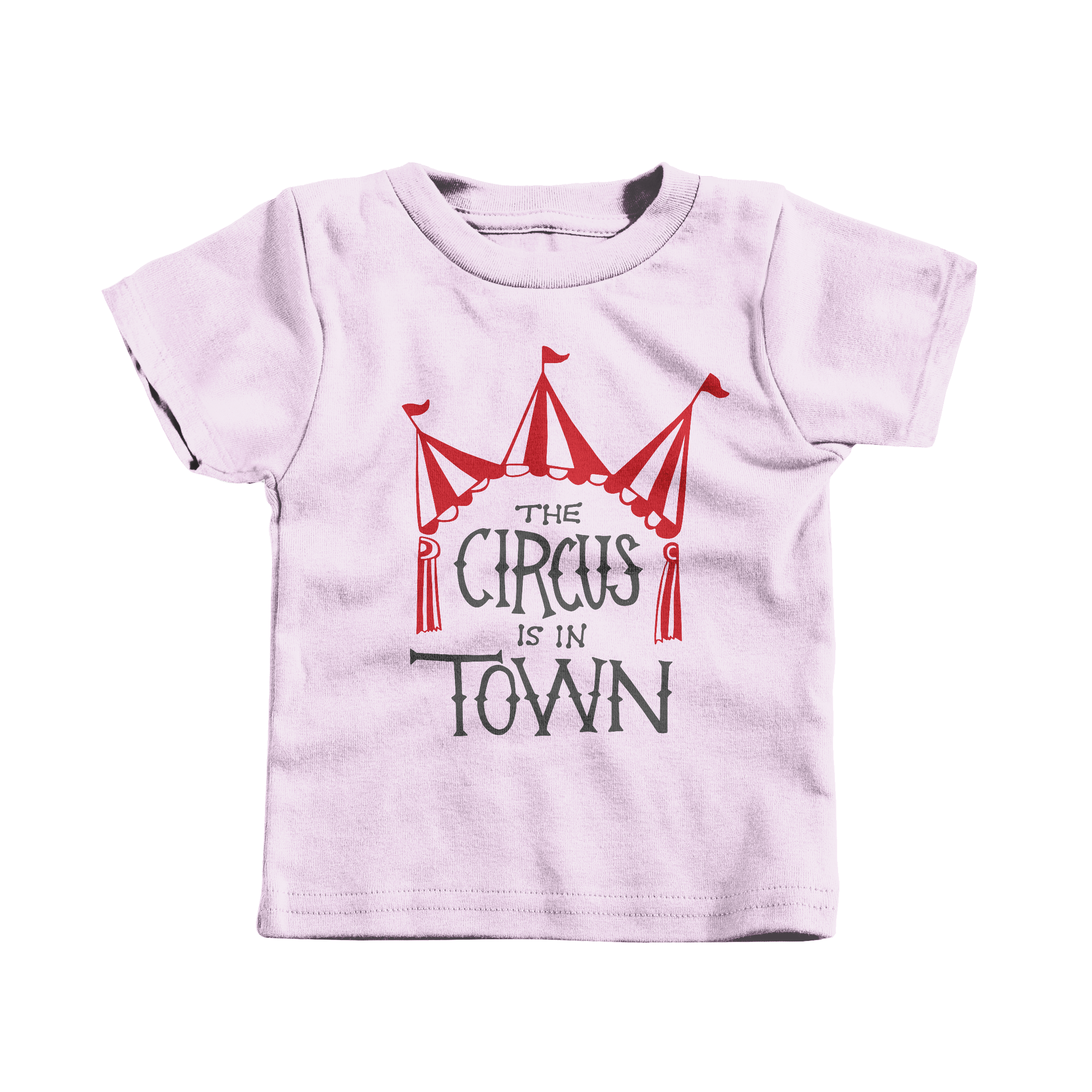 The Circus is in Town Pink (T-Shirt)