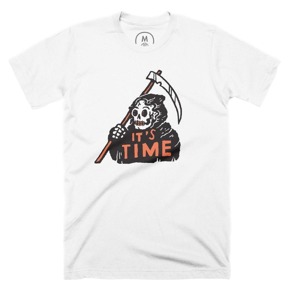 It's Time White (Men's)