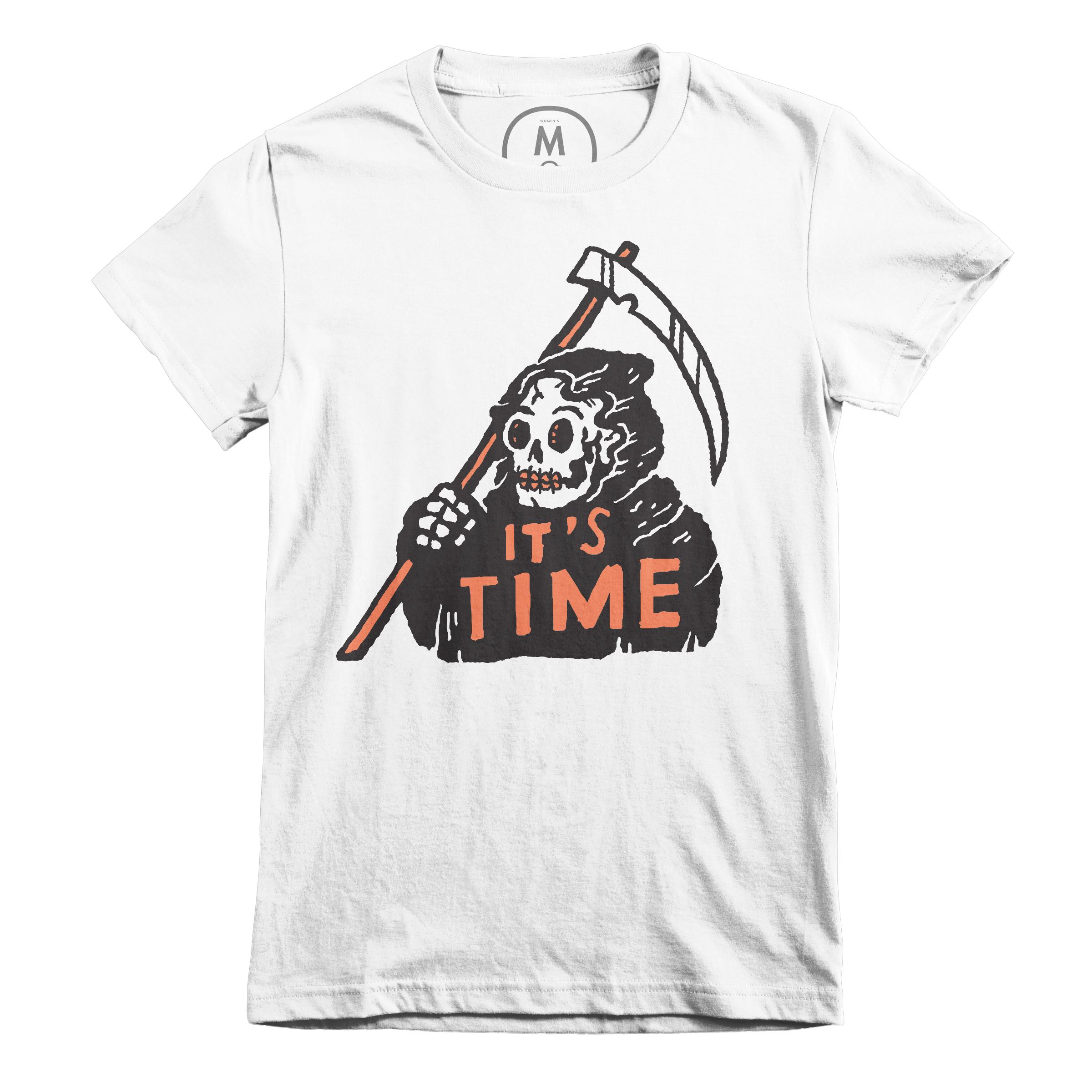 It's Time White (Women's)