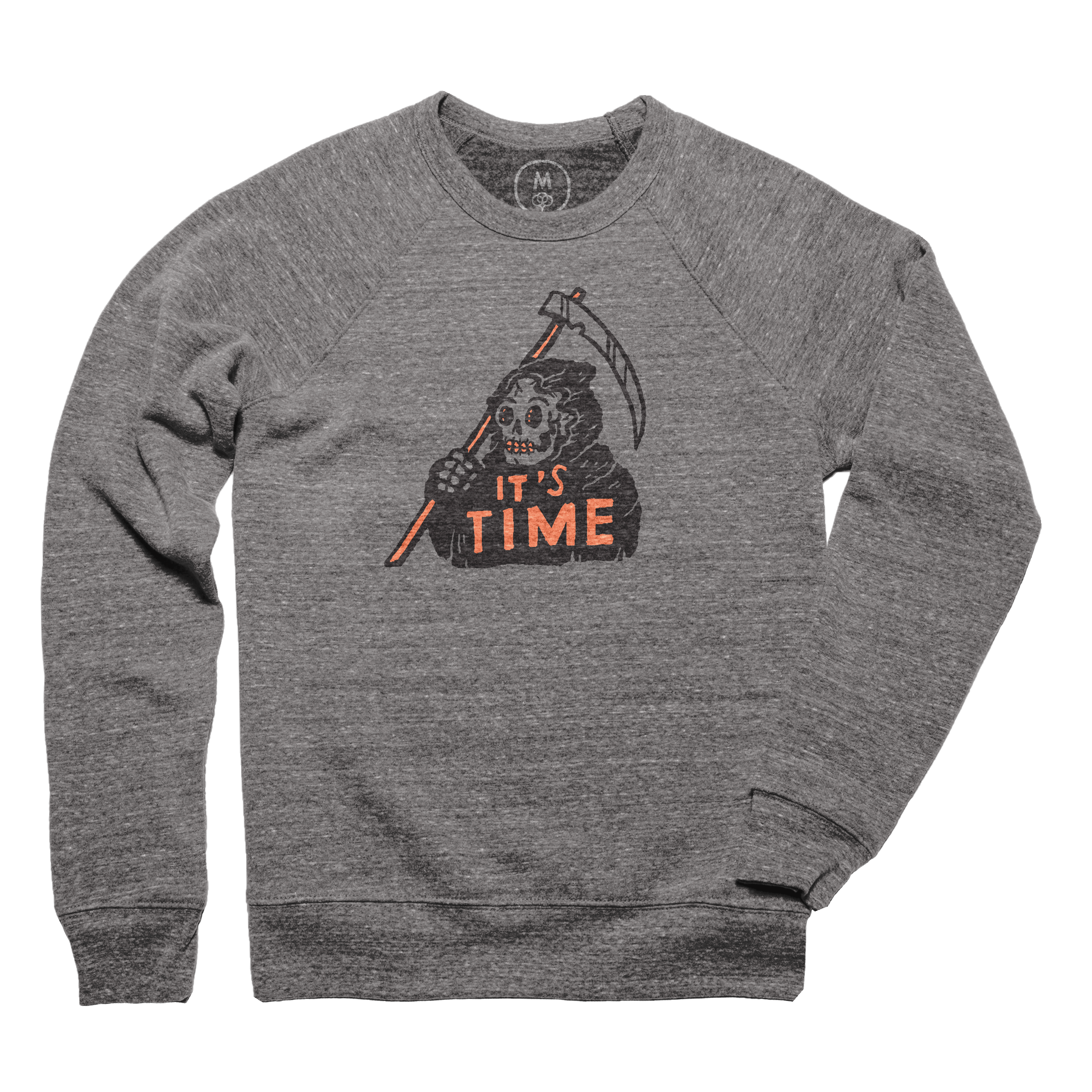 It's Time Pullover Crewneck